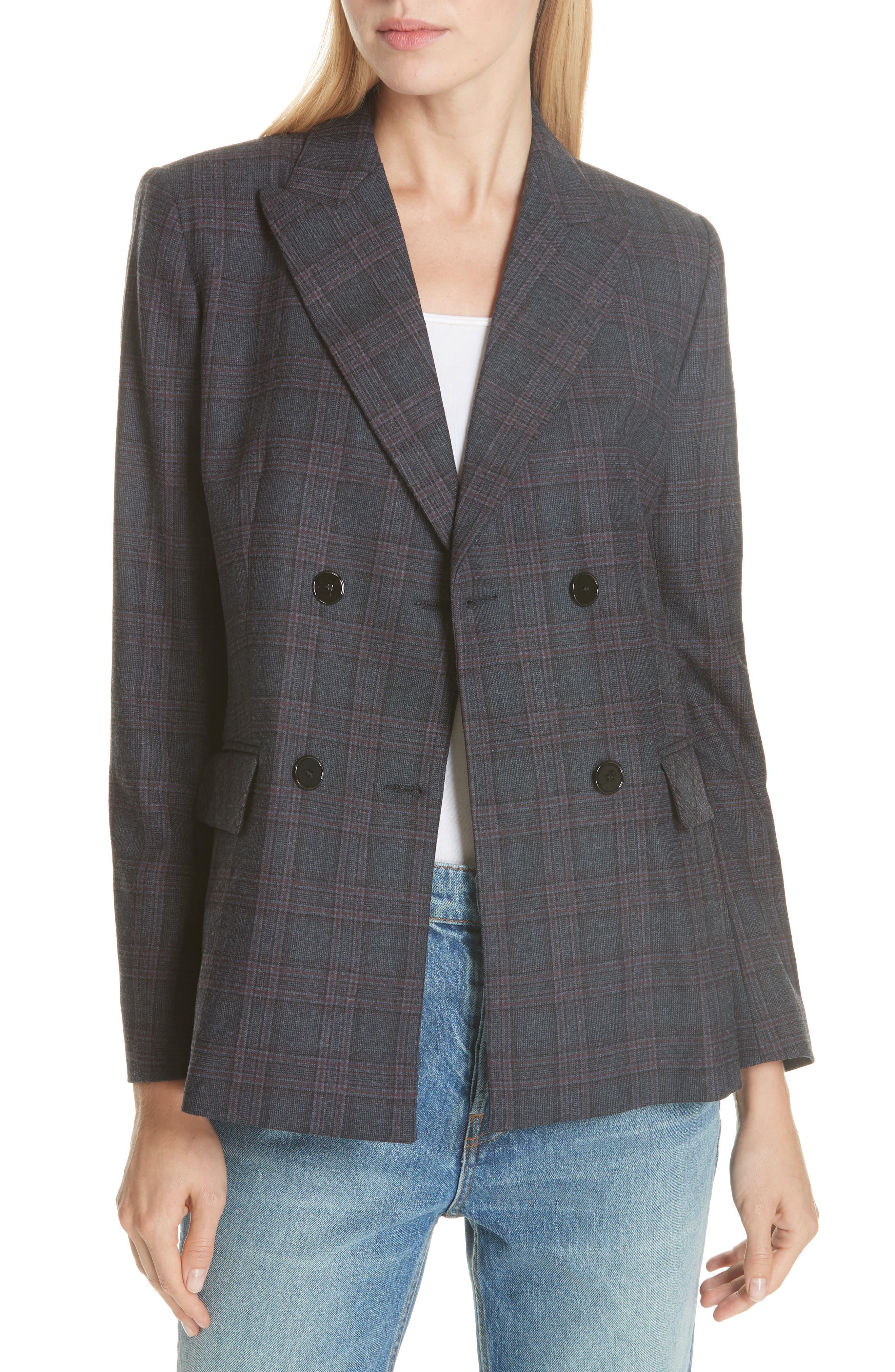 Oscar Plaid Jacket,                         Main,                         color, 400