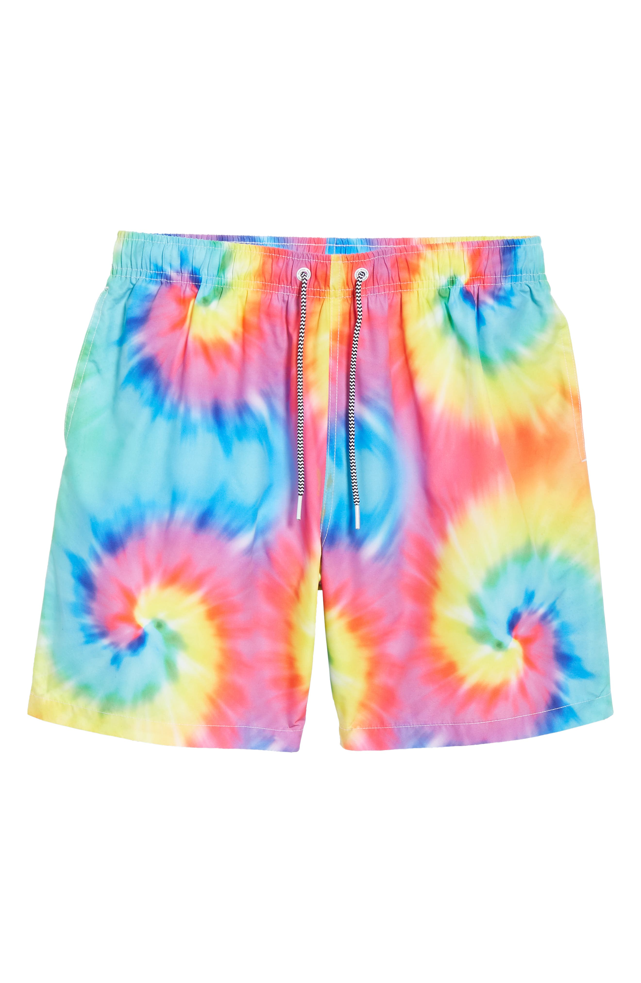Tie Dye Swim Trunks,                             Alternate thumbnail 6, color,                             400