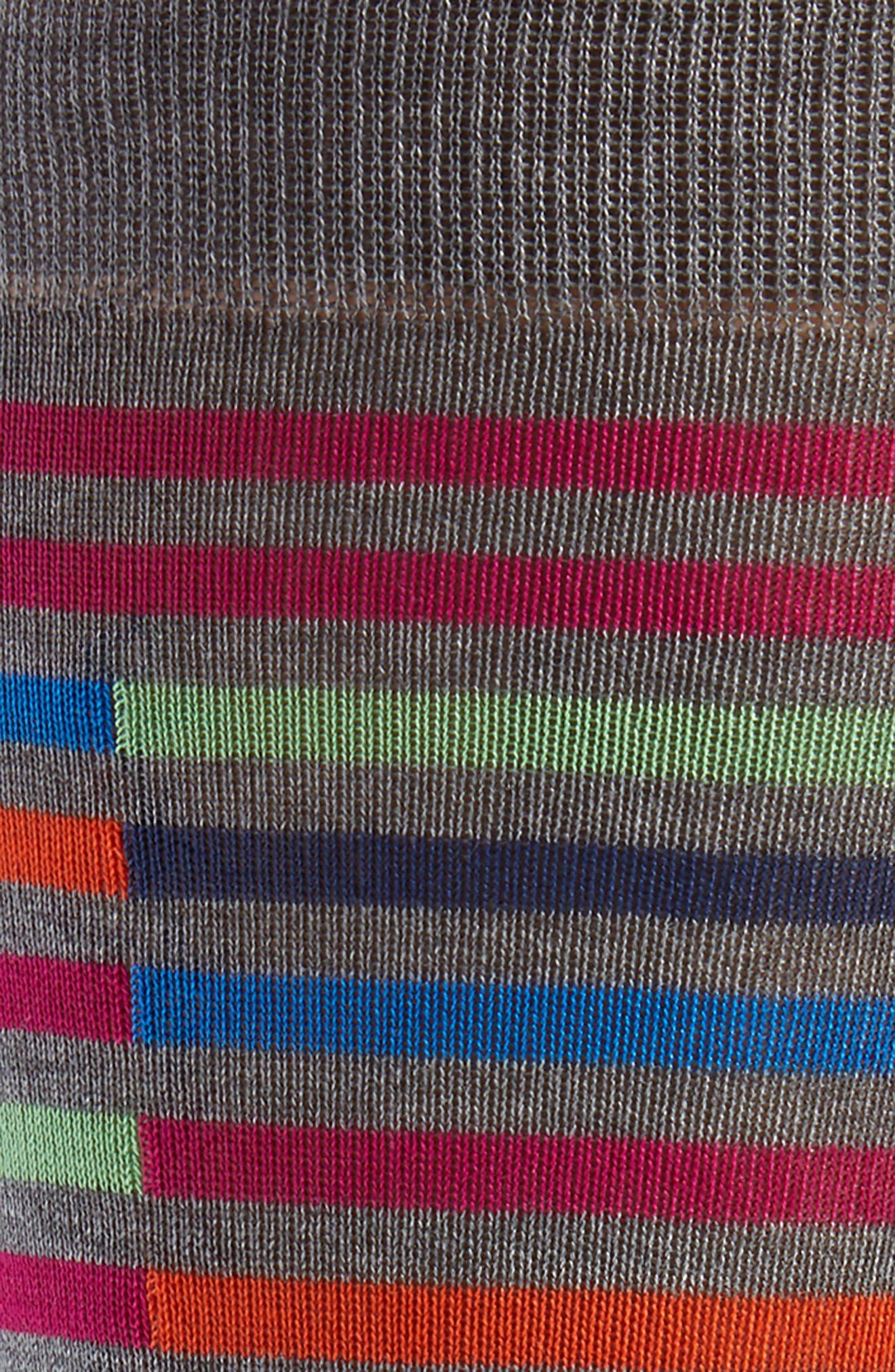 Broken Stripe Socks,                             Alternate thumbnail 2, color,                             031