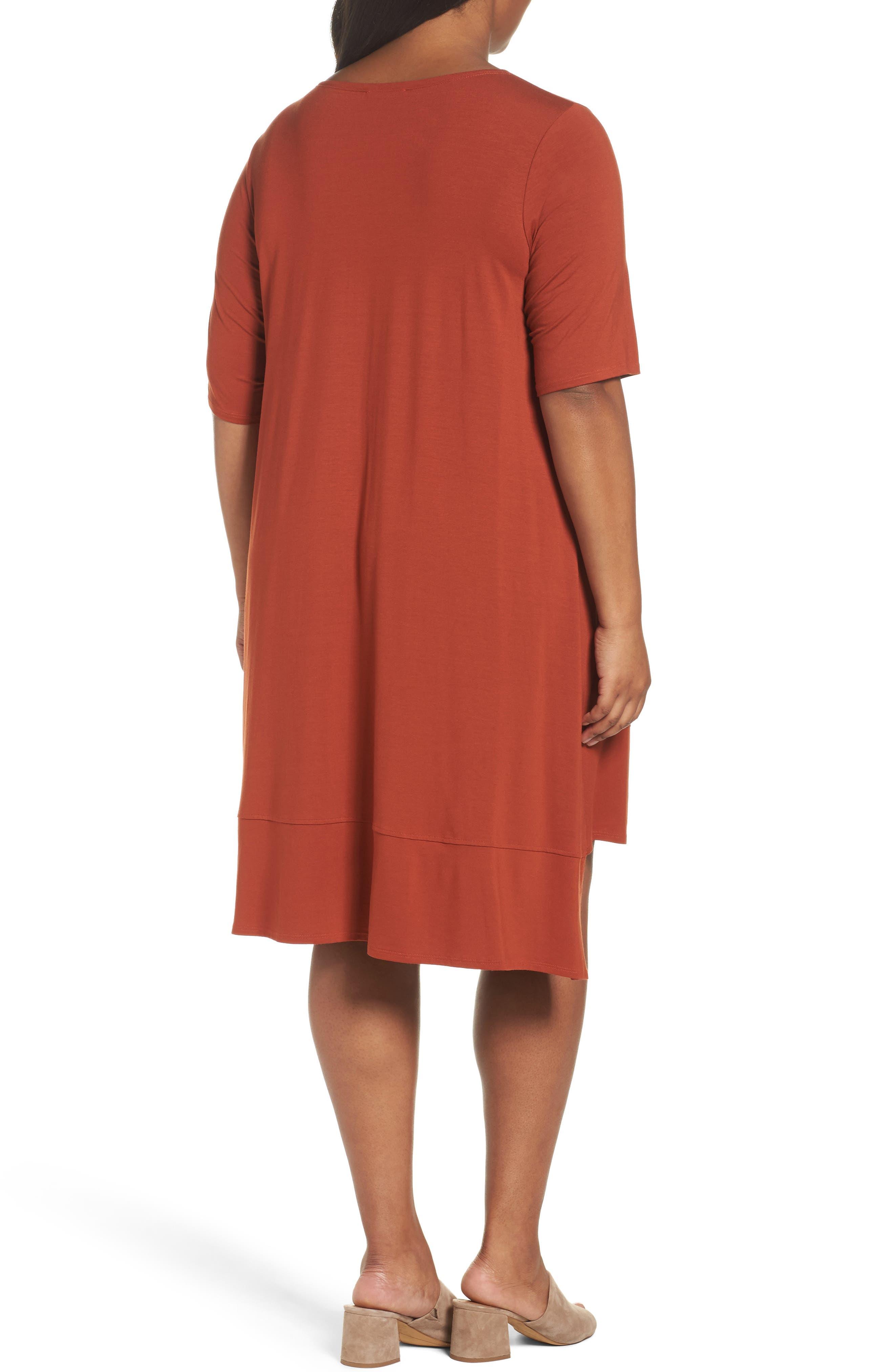 Jersey Shift Dress,                             Alternate thumbnail 8, color,
