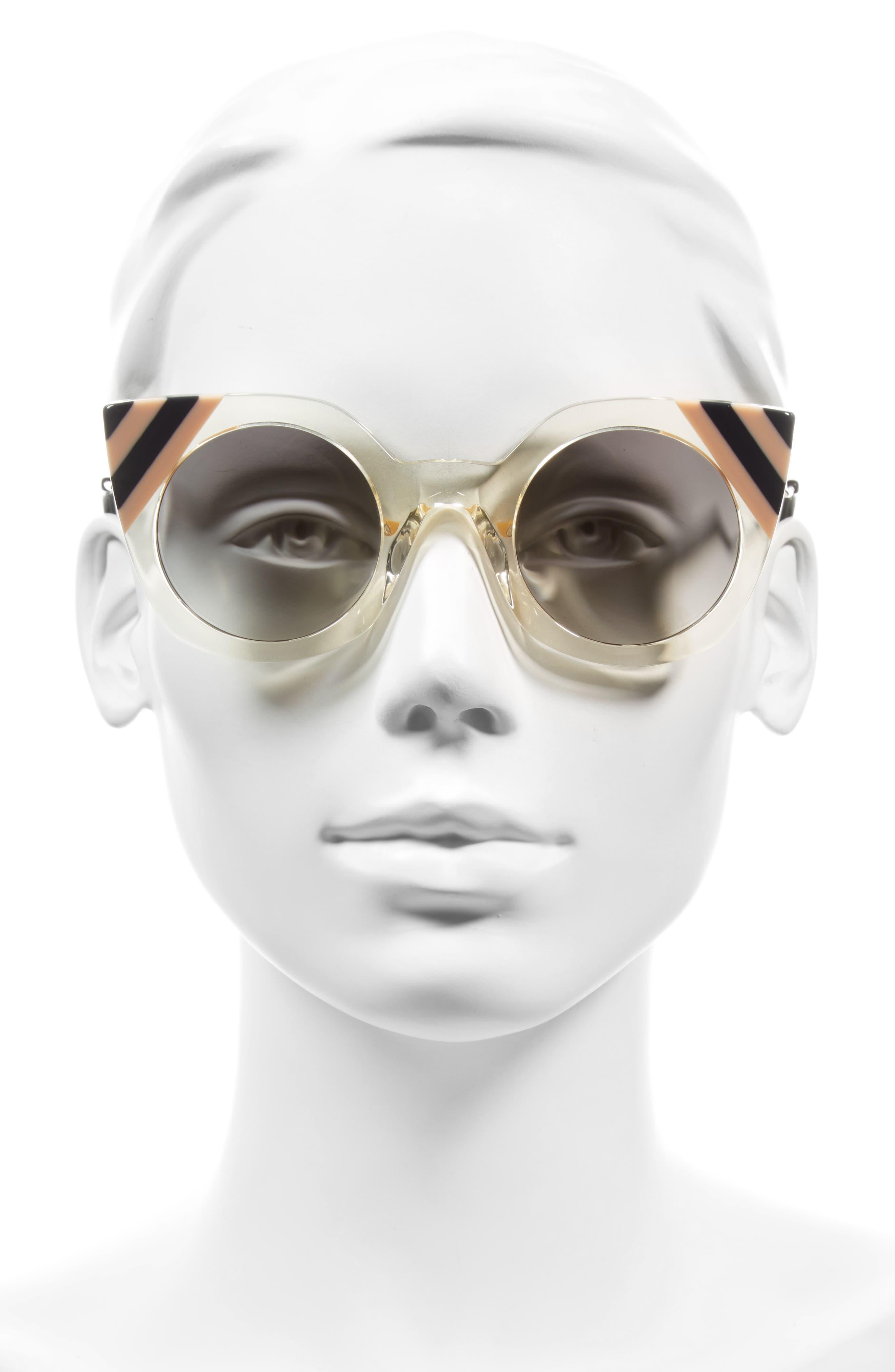 47mm Cat Eye Sunglasses,                             Alternate thumbnail 8, color,