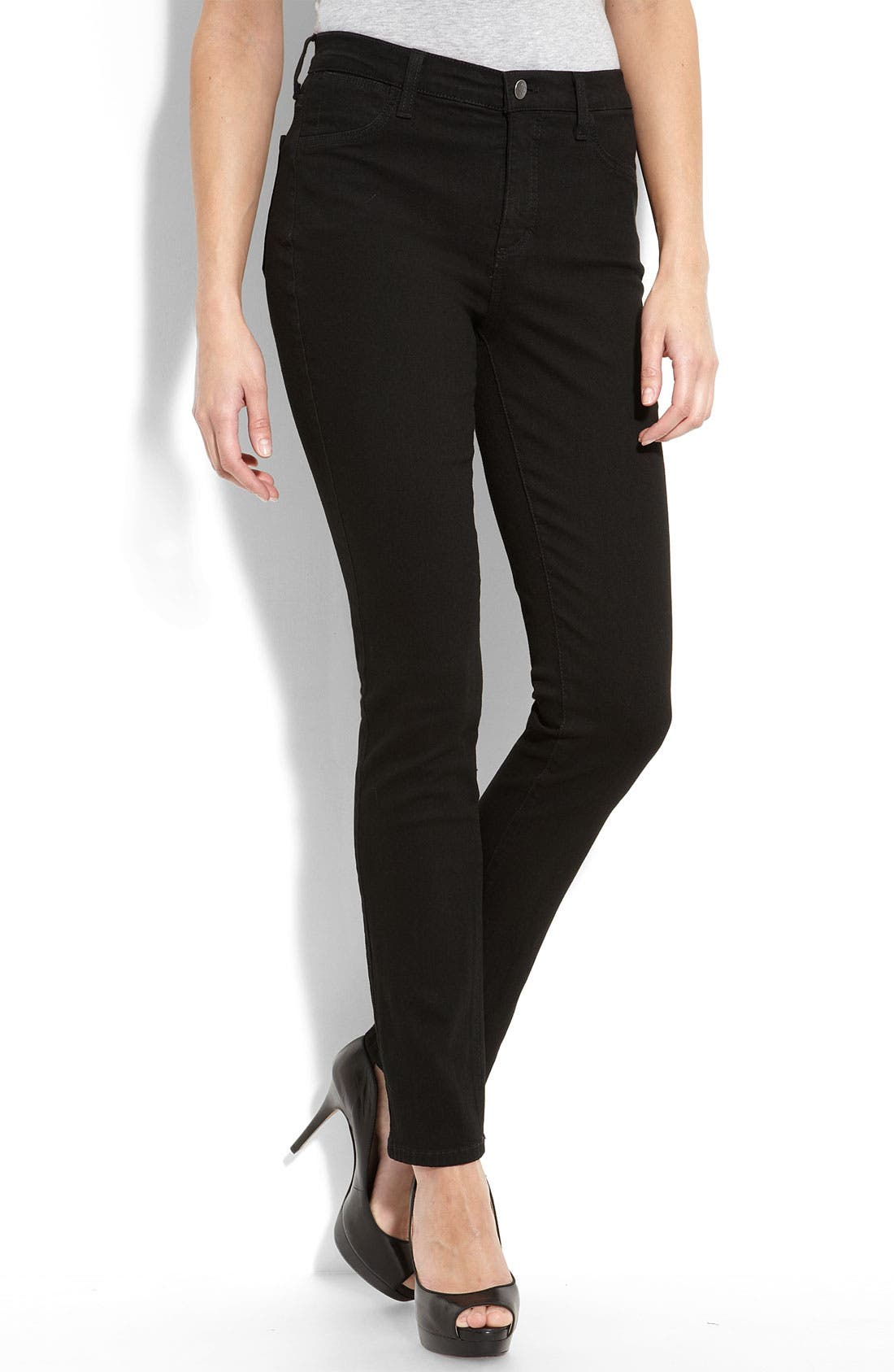 Not Your Daughter's Jeans<sup>®</sup> Tummy Tuck<sup>®</sup> Stretch Denim Leggings,                             Main thumbnail 1, color,                             001