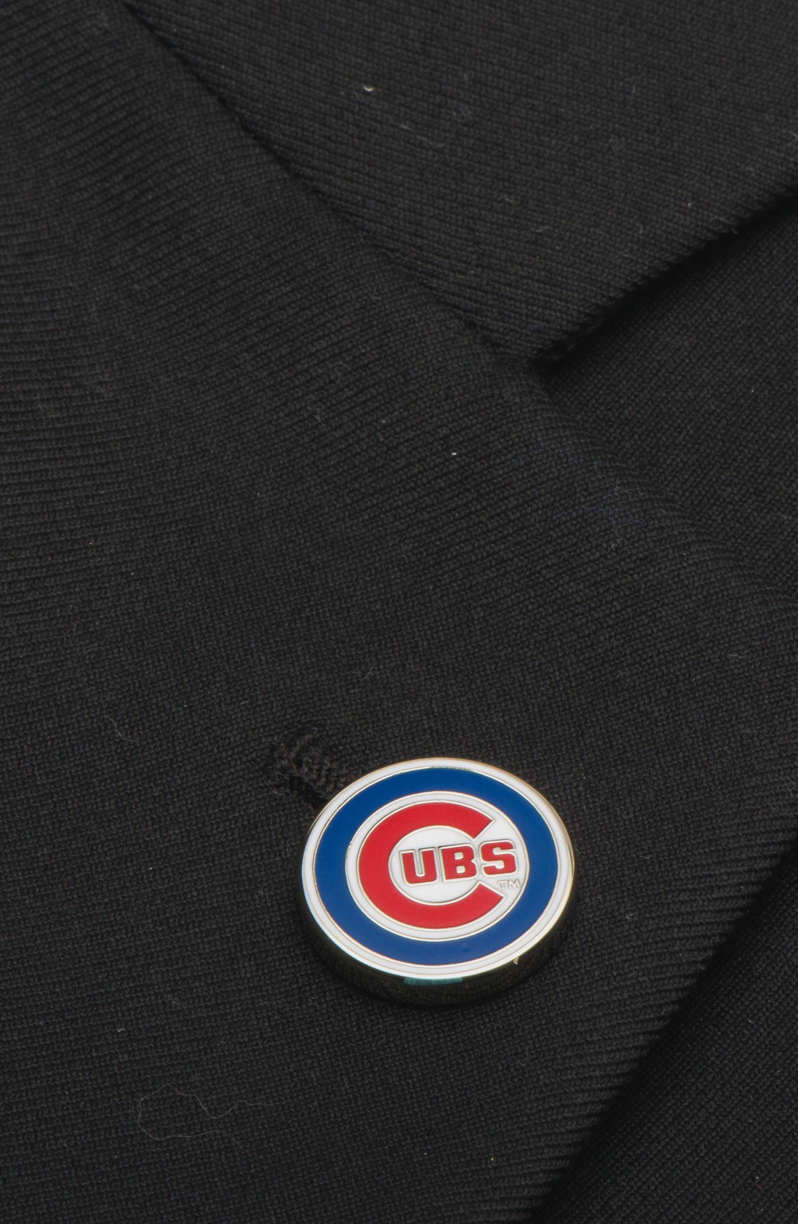 Chicago Cubs Lapel Pin,                             Alternate thumbnail 3, color,                             BLUE/ RED