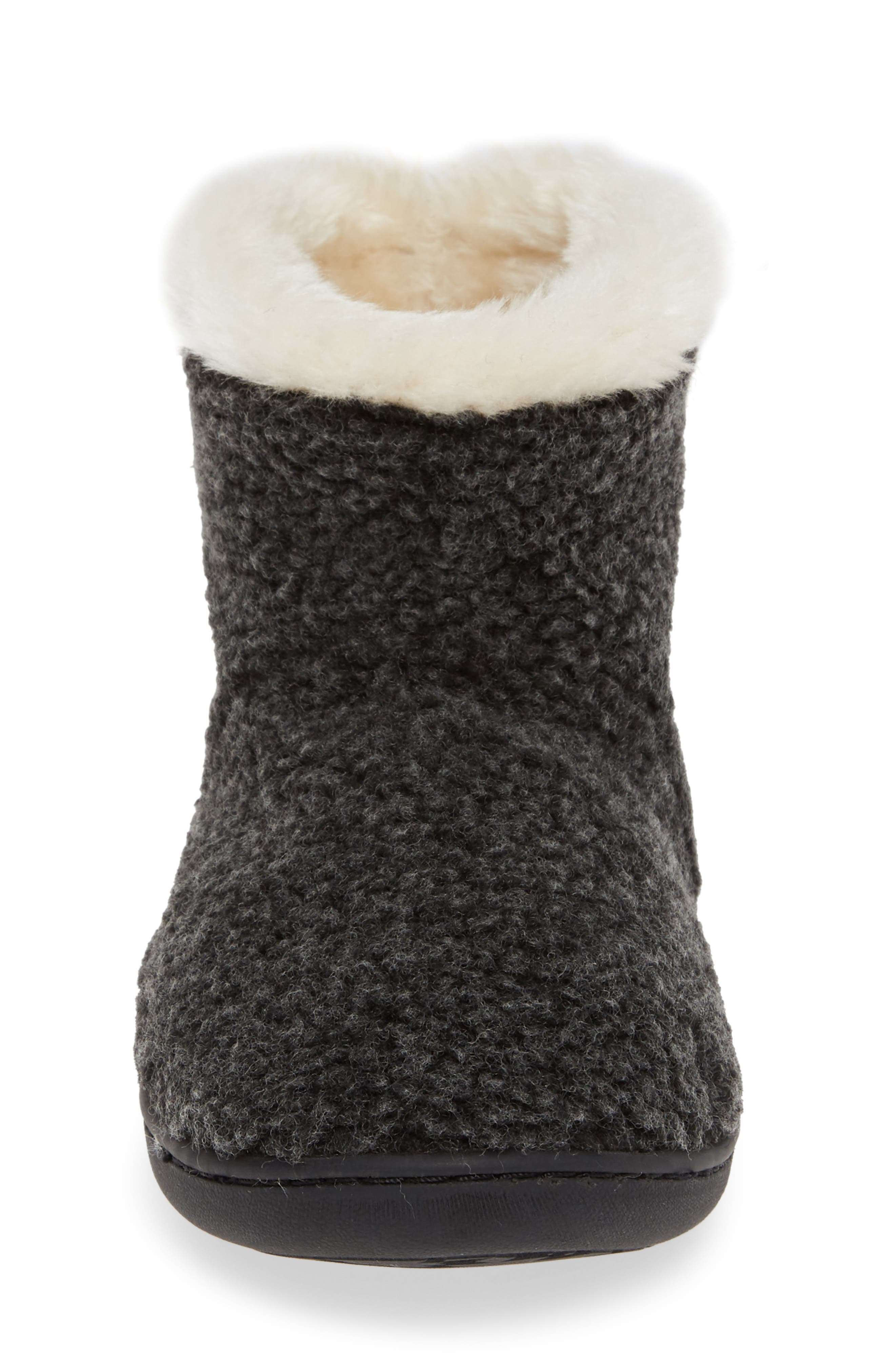 Betty Bootie,                             Alternate thumbnail 4, color,                             CHARCOAL BERBER
