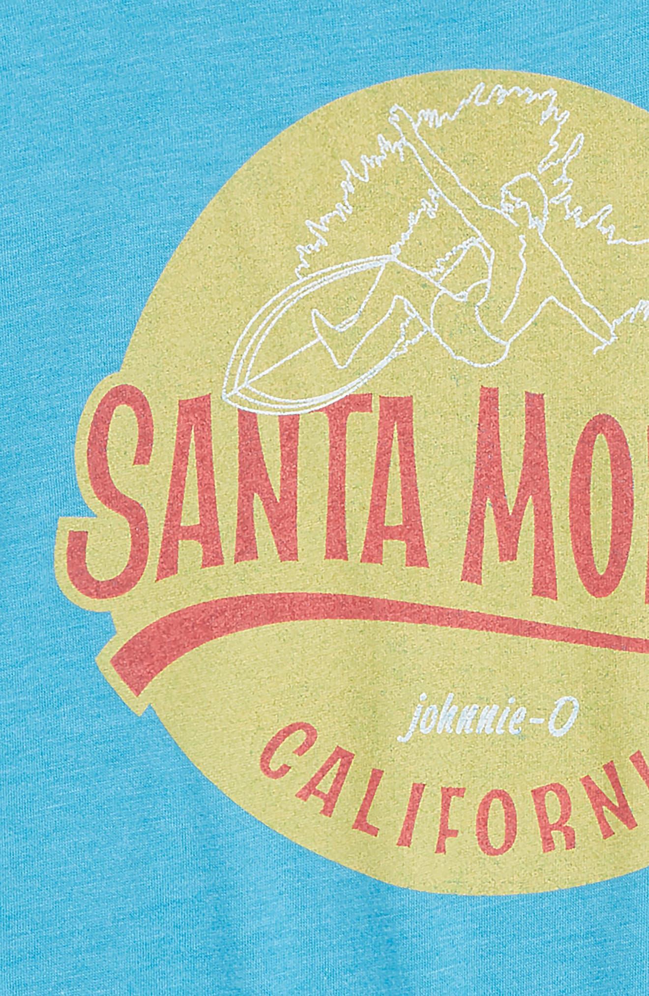 Shore Break T-Shirt,                             Alternate thumbnail 3, color,                             LAGUNA BLUE