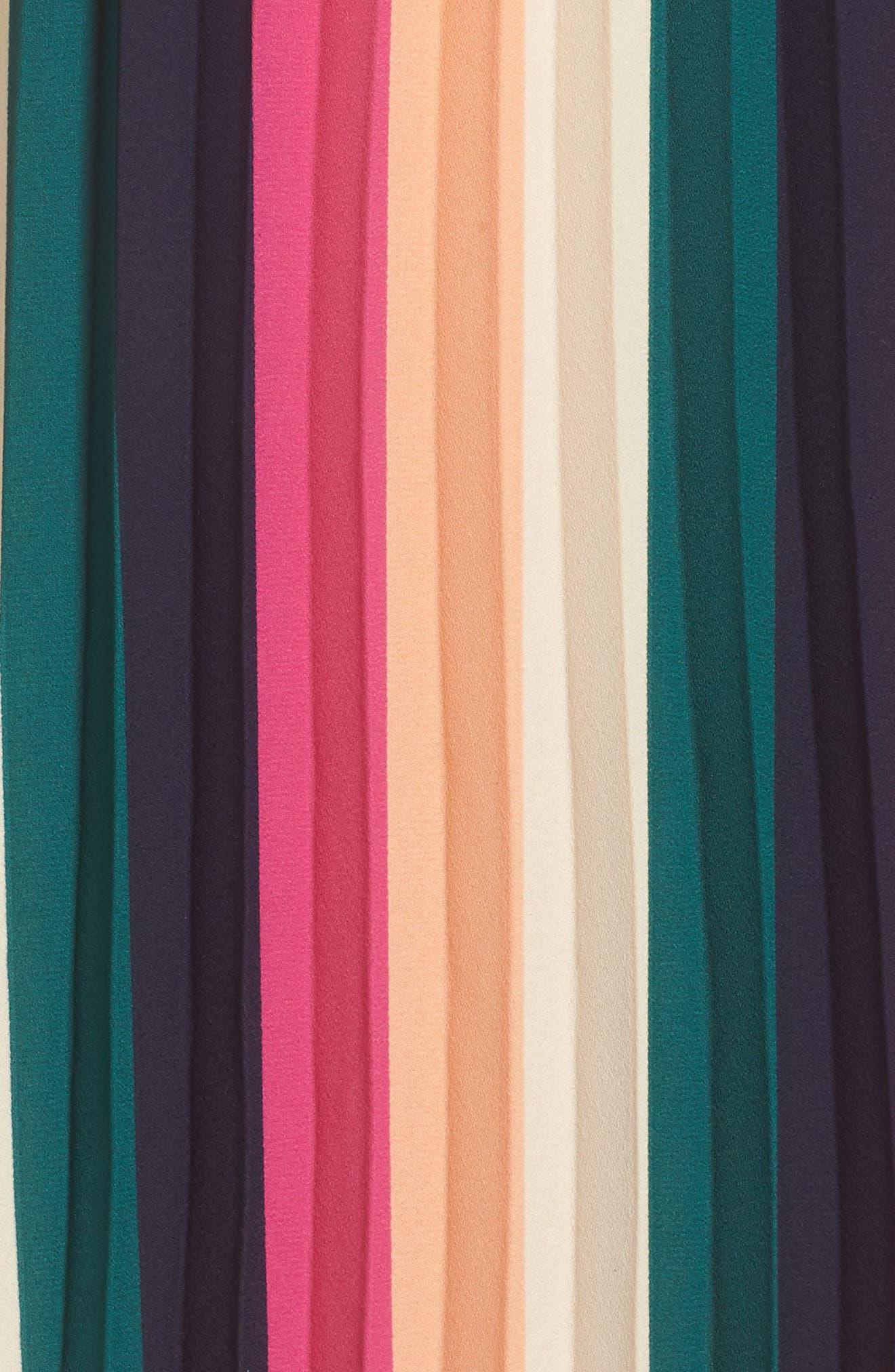 x Hi Sugarplum! Navio Pleat Skirt,                             Alternate thumbnail 5, color,                             007