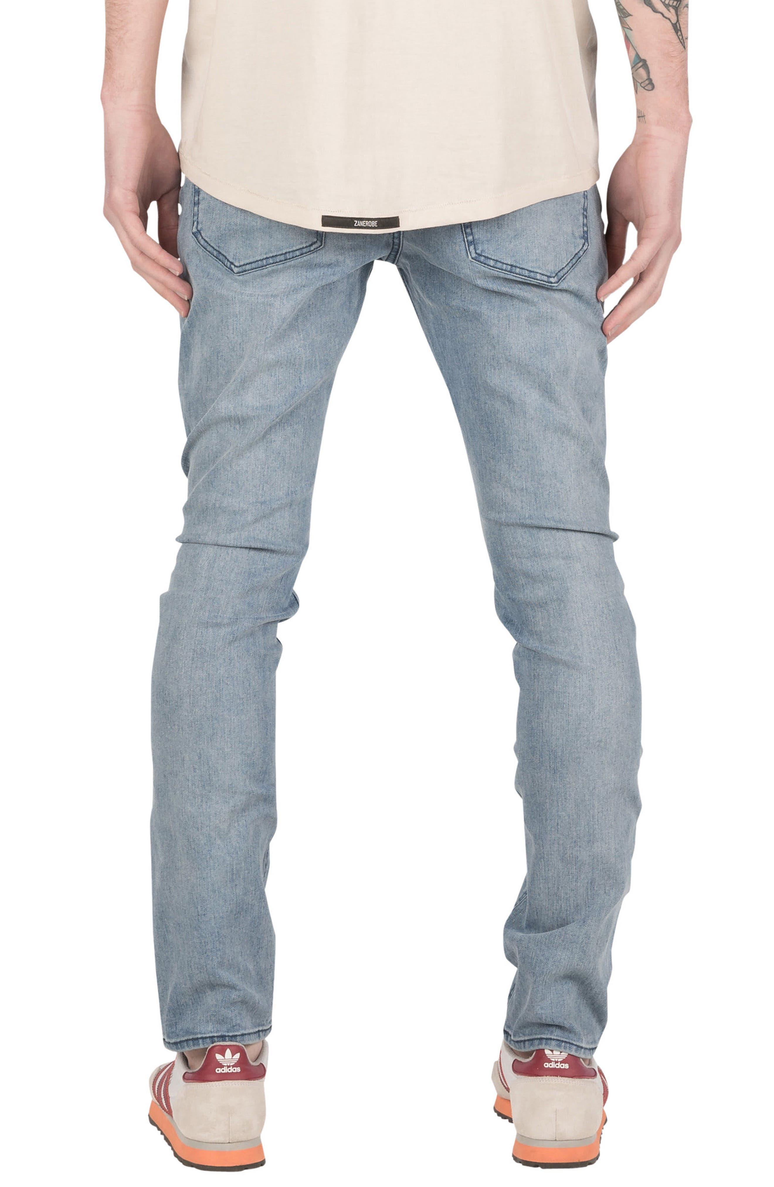 Joe Blow Destroyed Denim Jeans,                             Alternate thumbnail 2, color,                             420