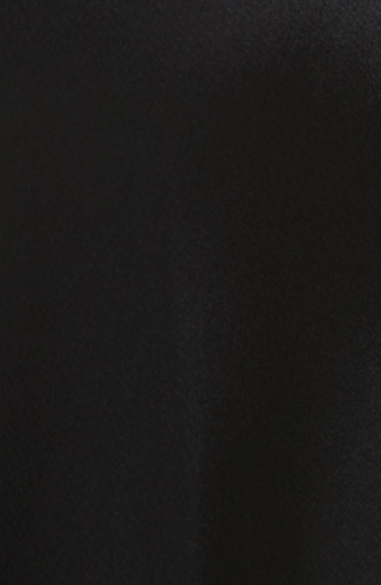 Nassau Reverie Satin Cloth Pants,                             Alternate thumbnail 5, color,                             001