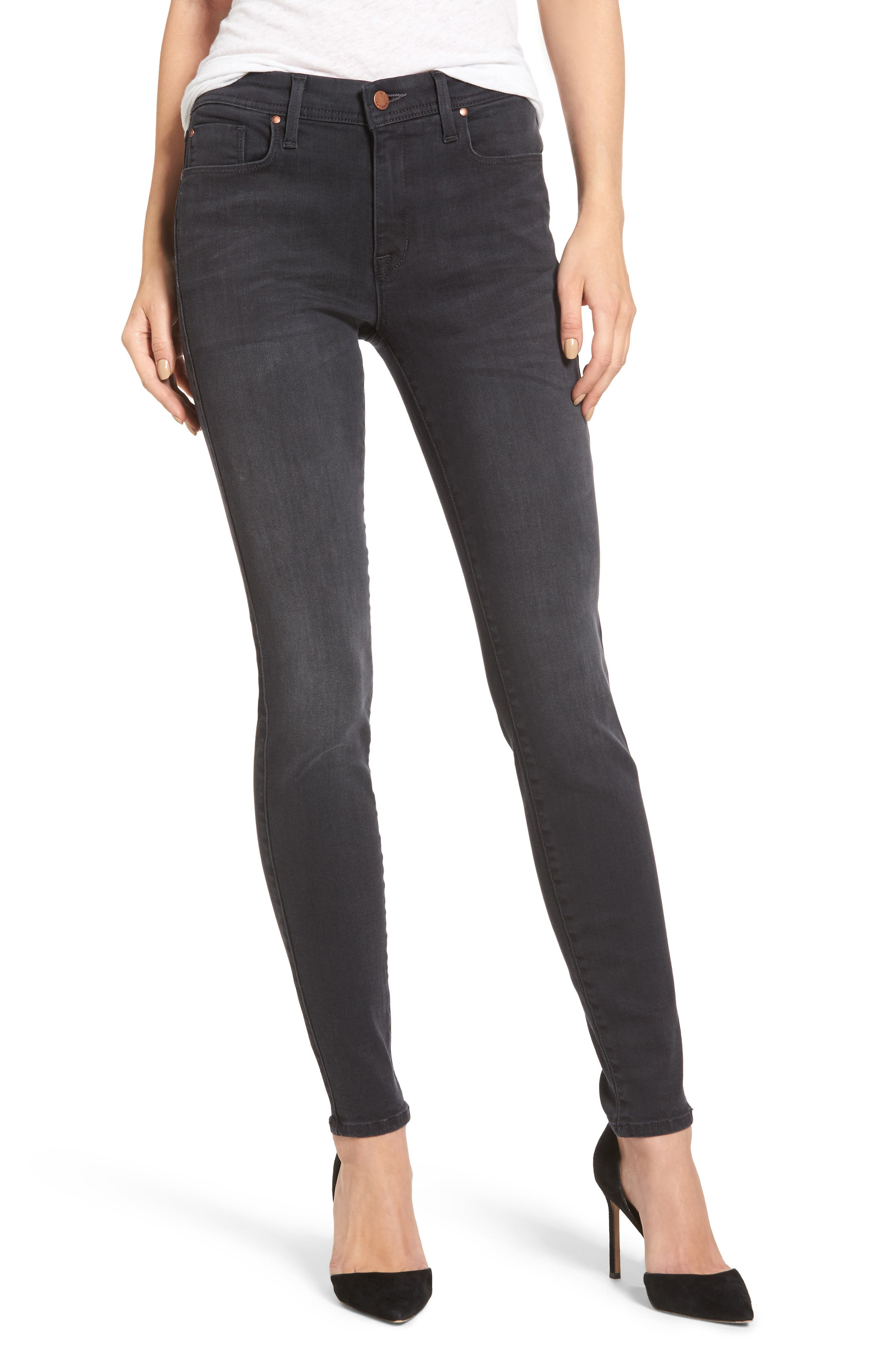 Belvedere Skinny Jeans,                             Main thumbnail 1, color,                             001