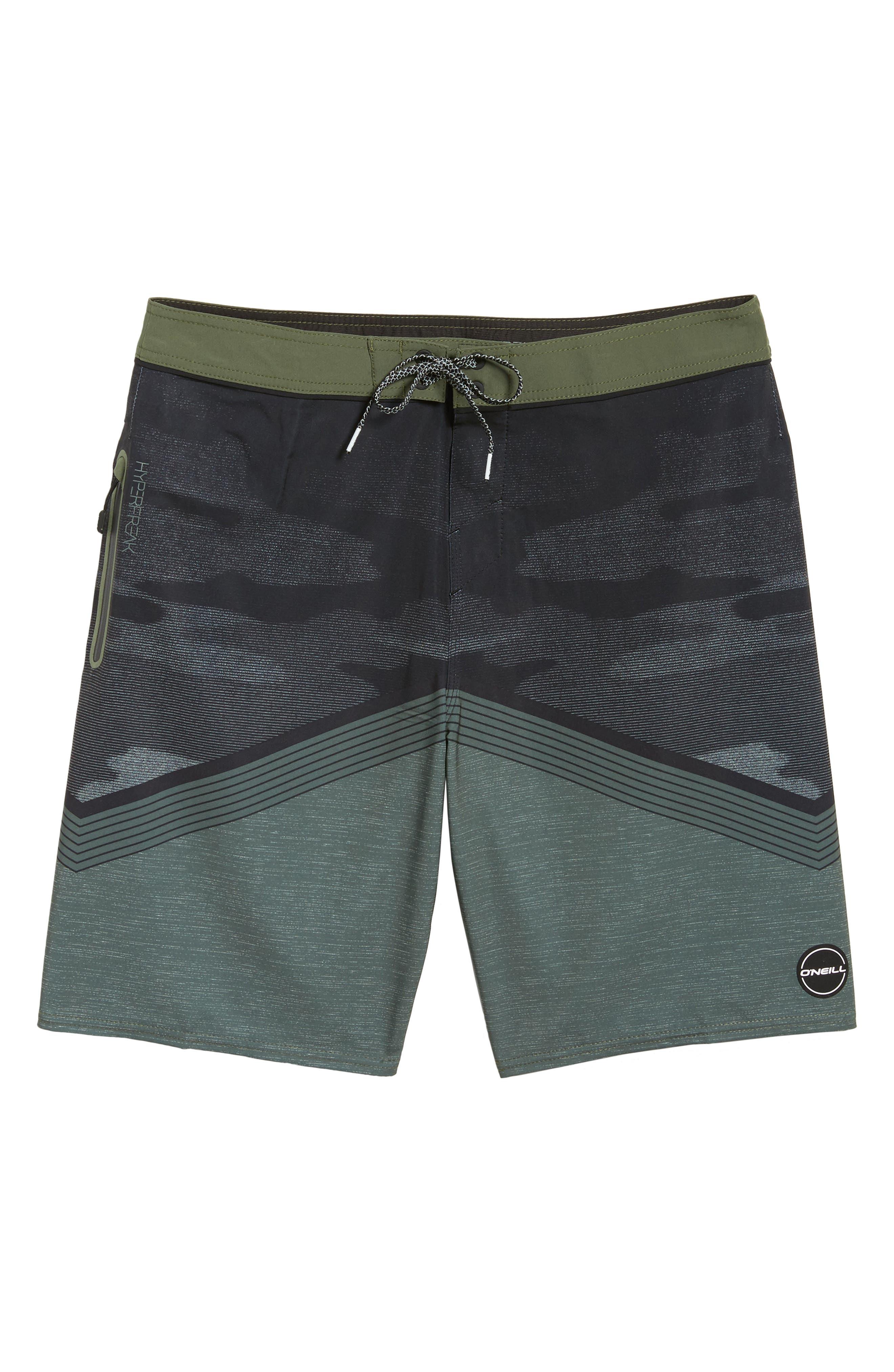Hyperfreak Stretch Board Shorts,                             Alternate thumbnail 6, color,                             310