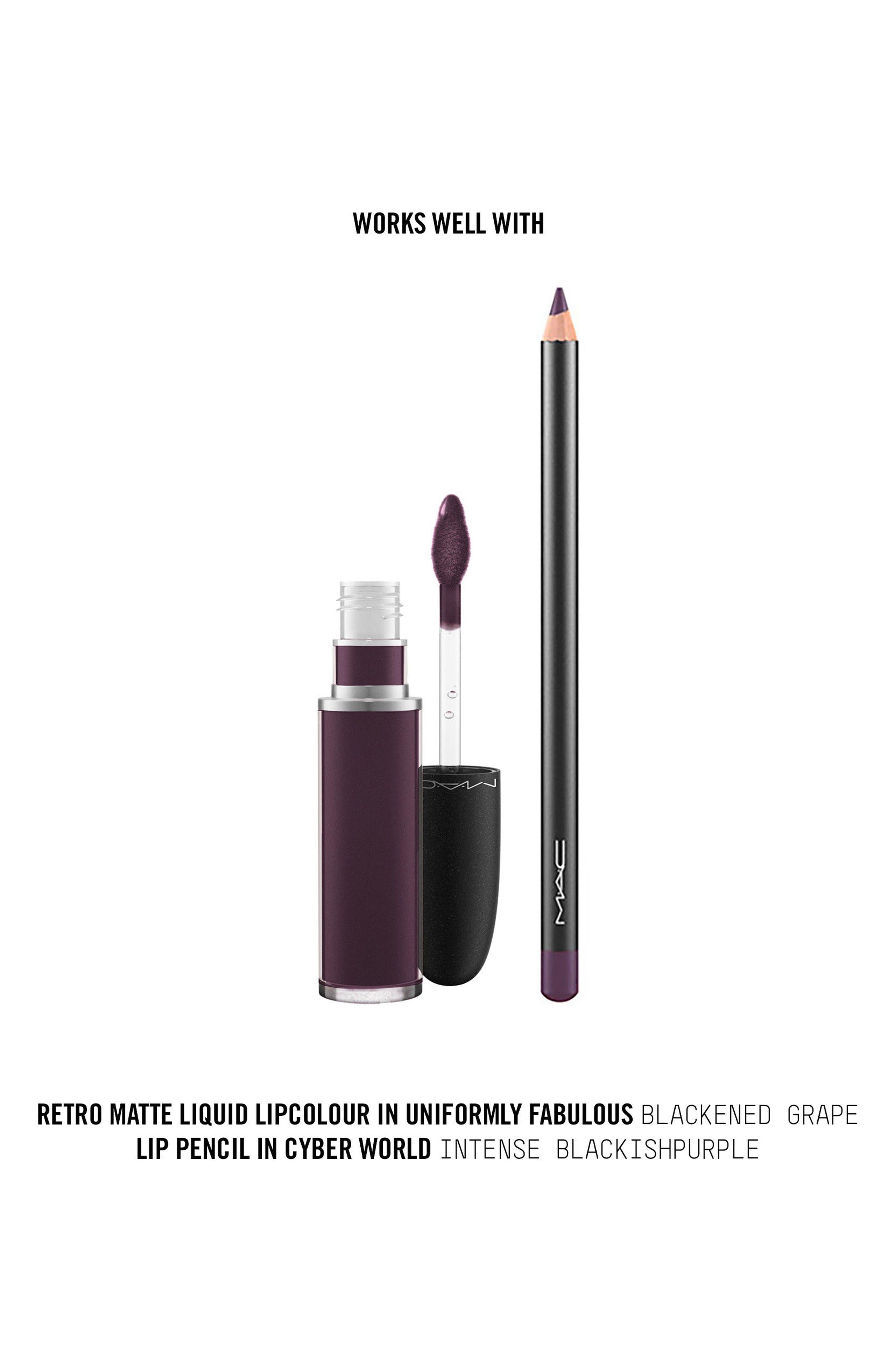 MAC Retro Matte Liquid Lipcolor,                             Alternate thumbnail 113, color,