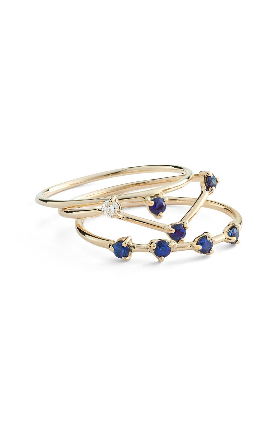 One Step Ring,                             Alternate thumbnail 2, color,                             YELLOW GOLD