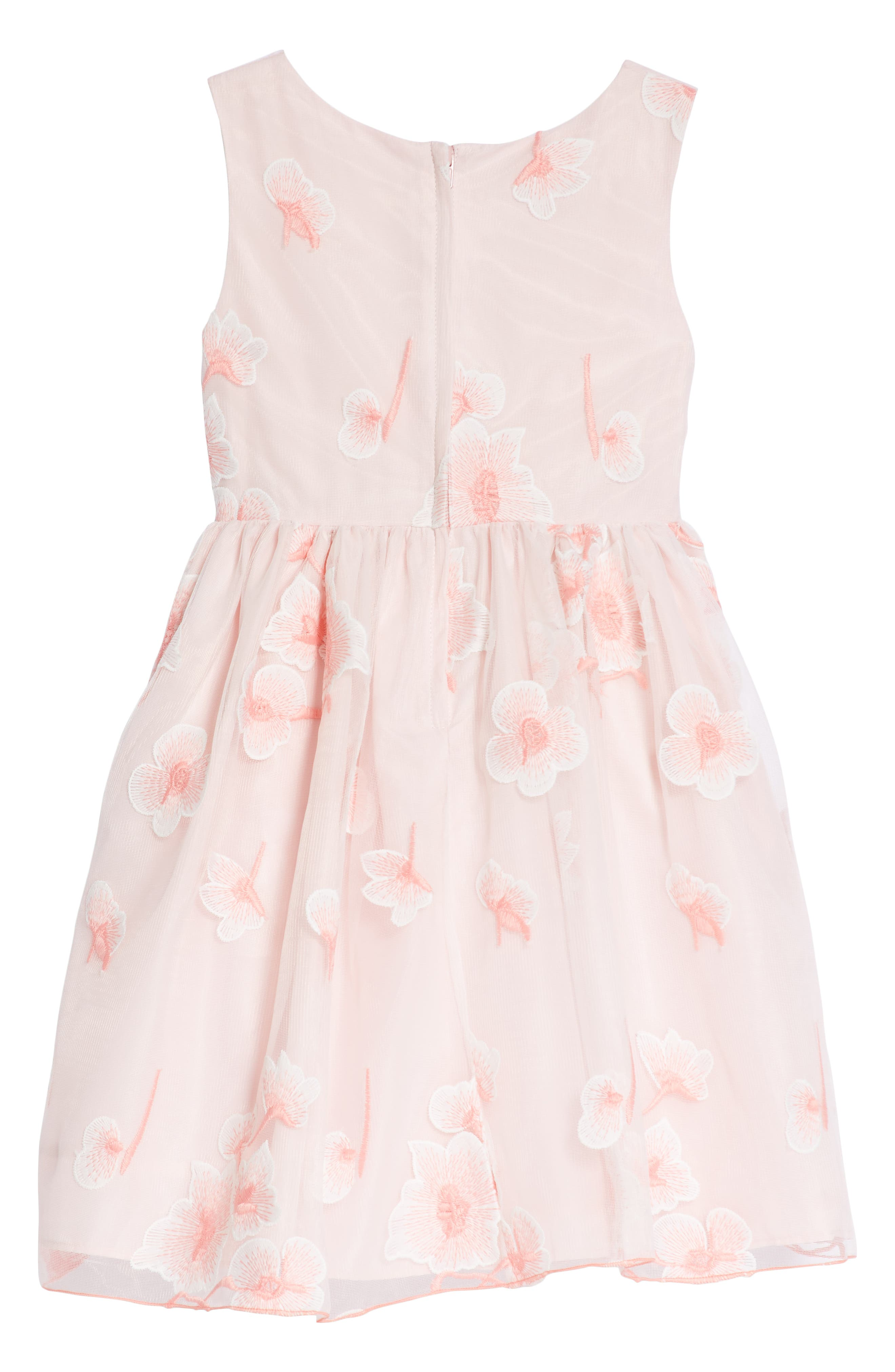 Floral Embroidered Dress,                             Alternate thumbnail 2, color,                             690