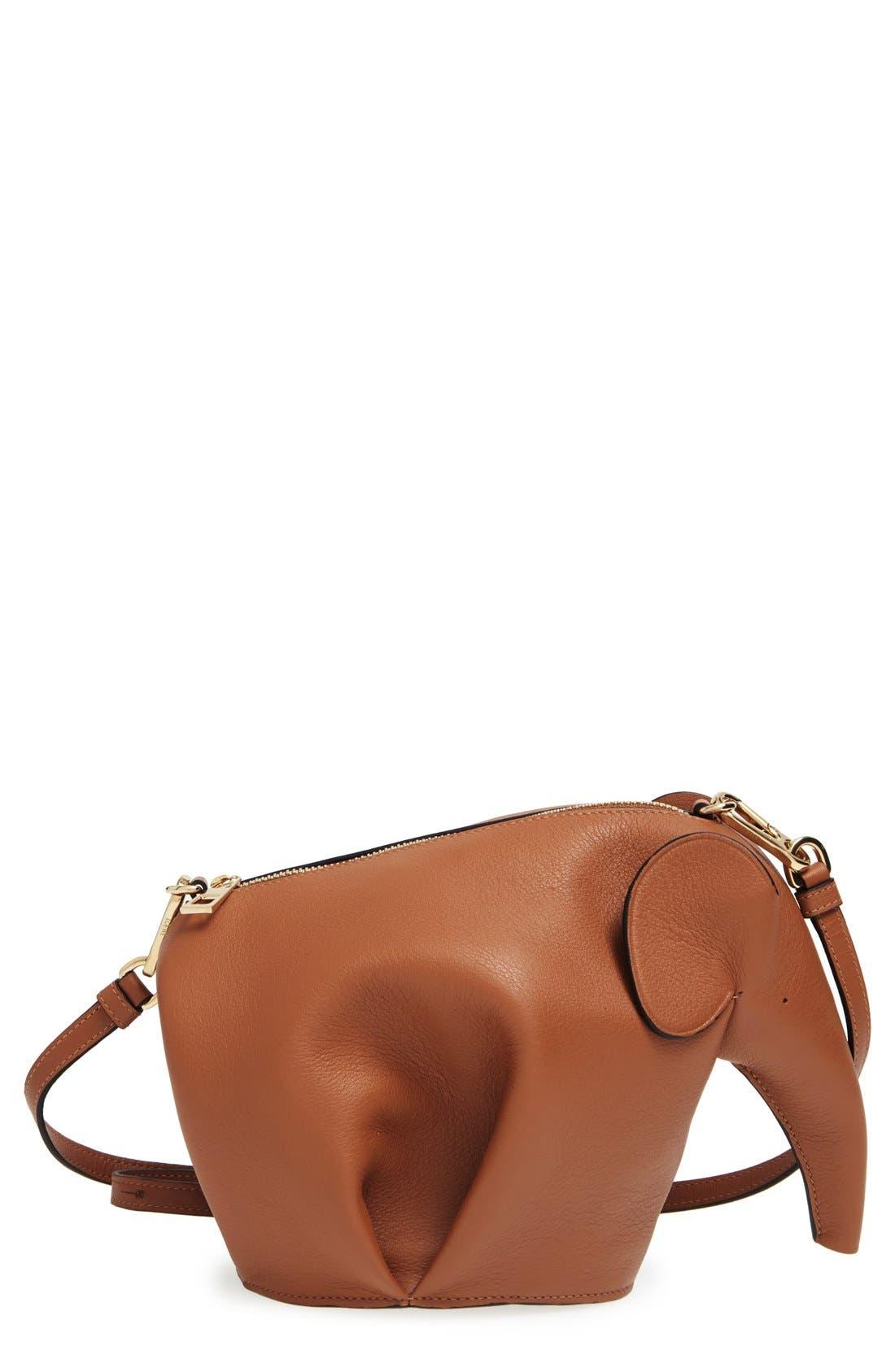 'Mini Elephant' Crossbody Bag,                             Main thumbnail 3, color,