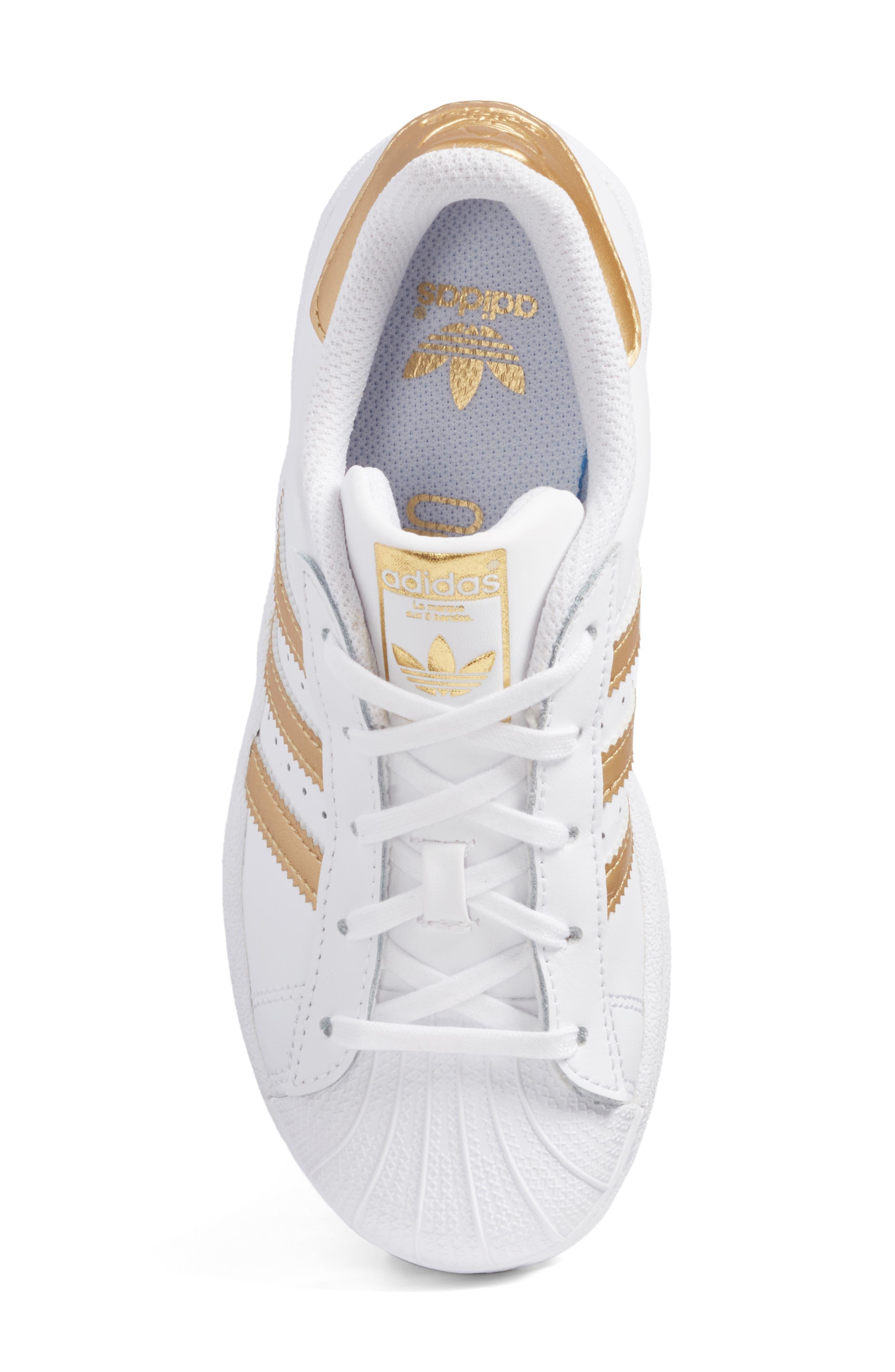 Superstar C Sneaker,                             Alternate thumbnail 5, color,                             100