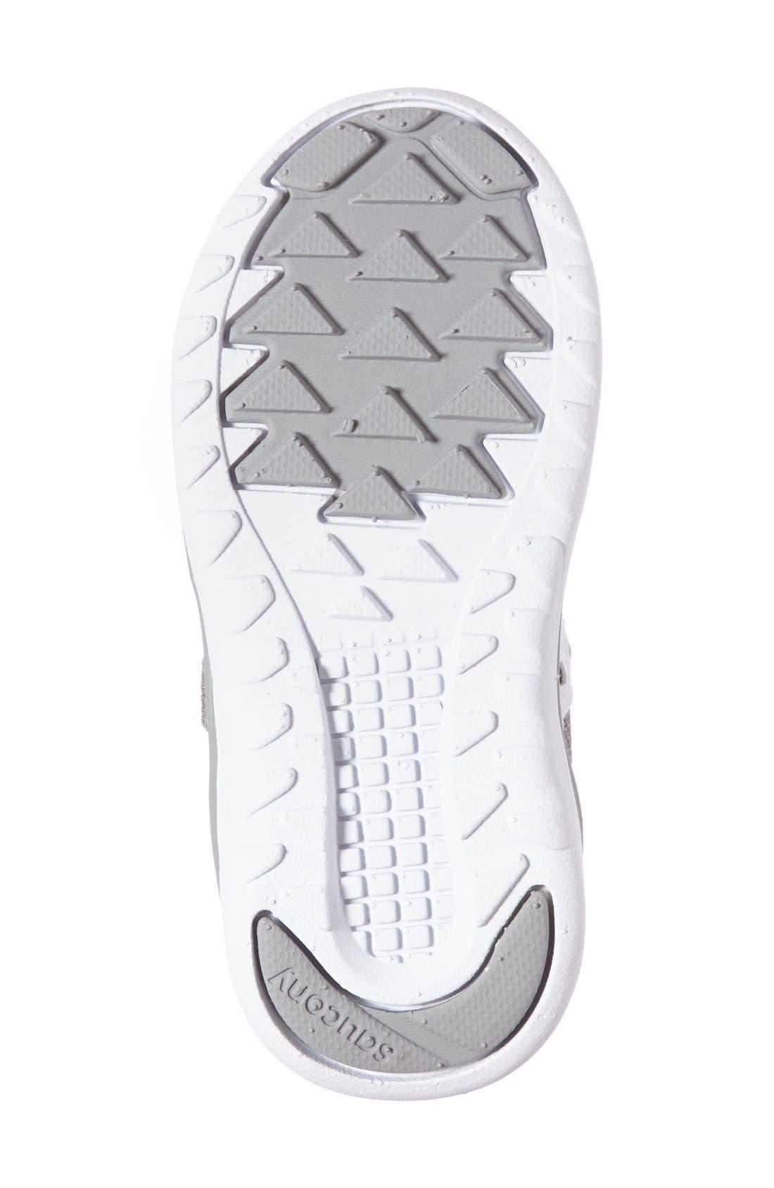 Jazz Lite Sneaker,                             Alternate thumbnail 5, color,                             GREY/ WHITE