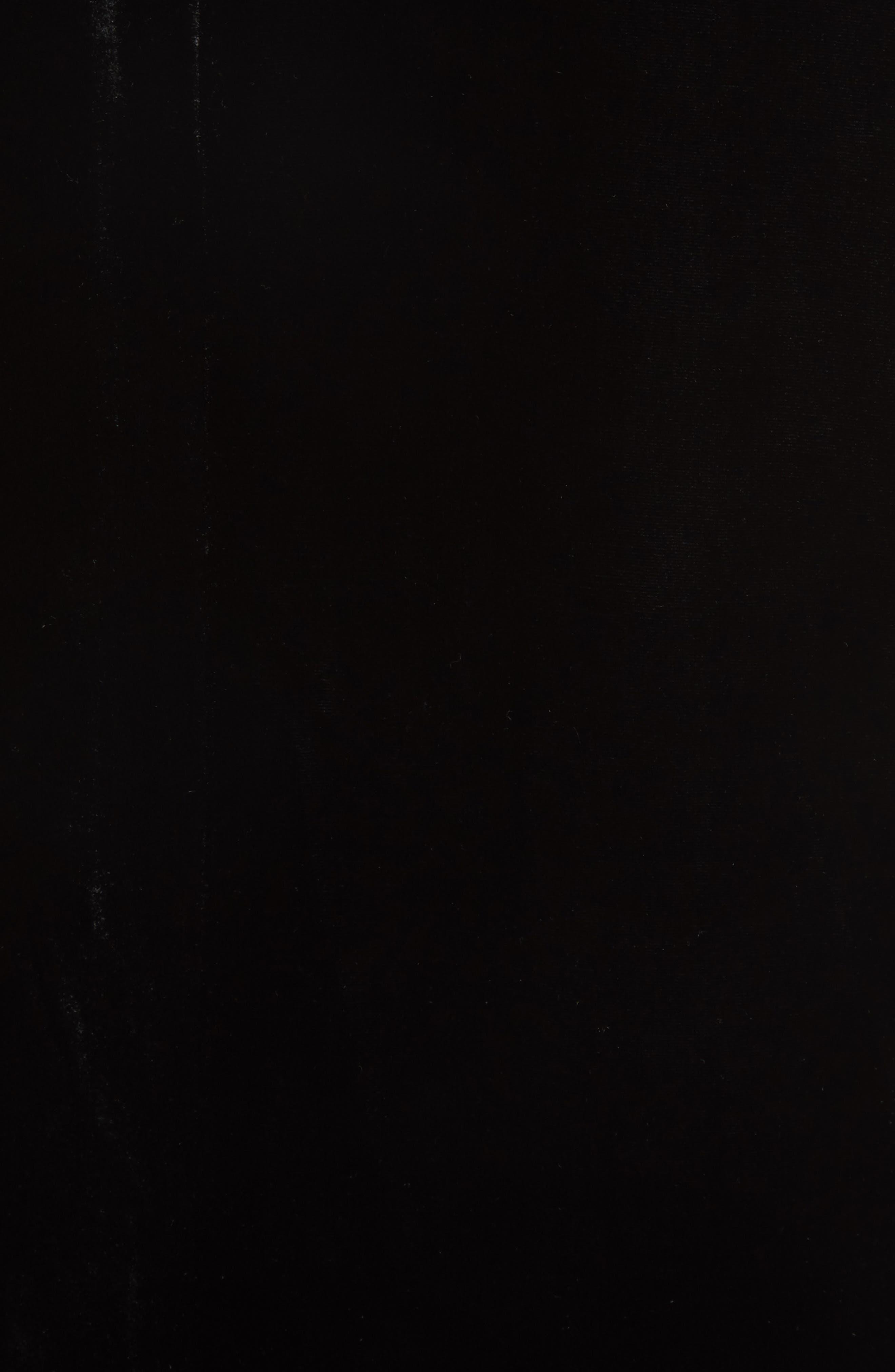 Boyfriend Velvet Blazer,                             Alternate thumbnail 6, color,                             001
