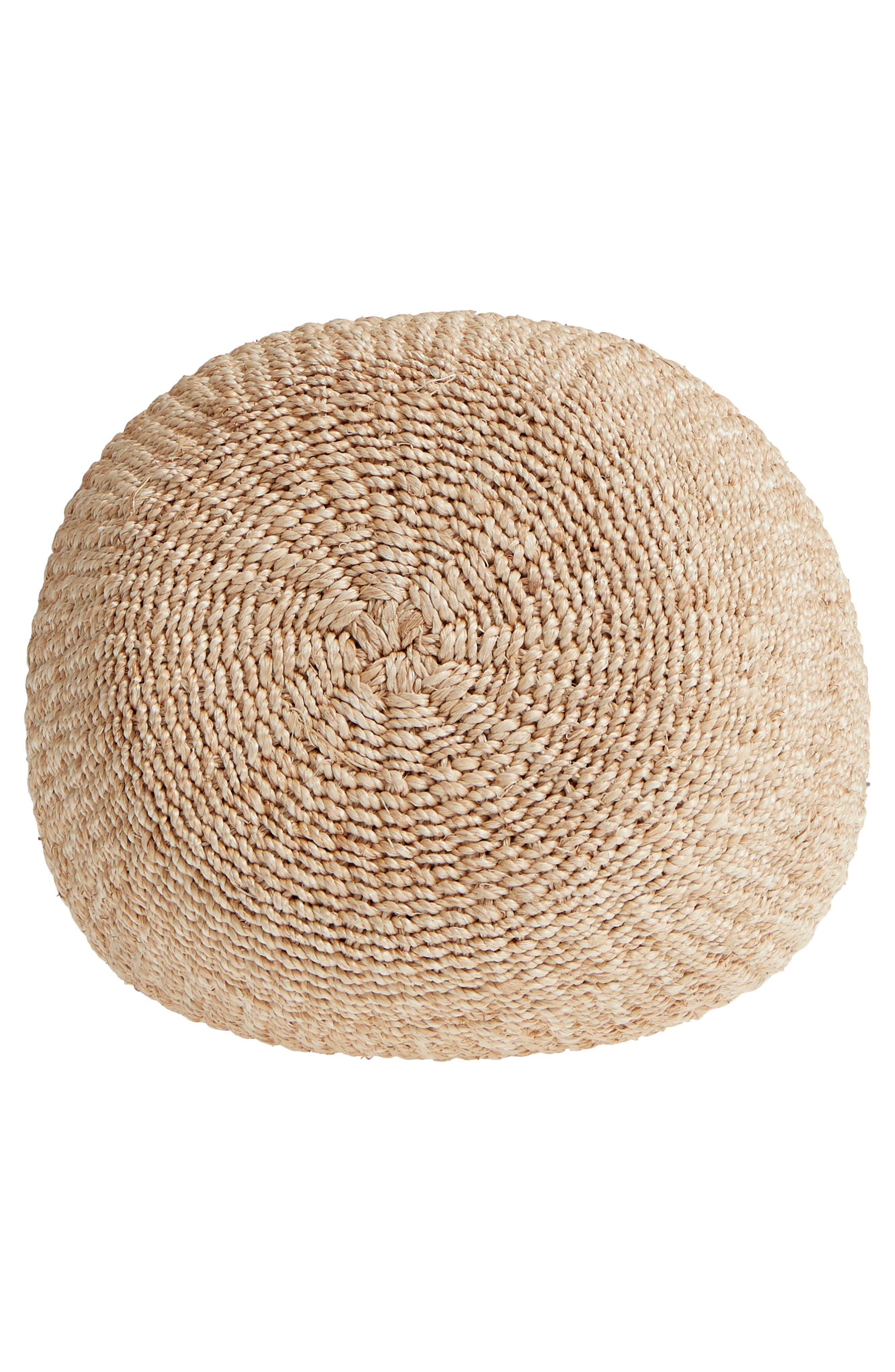 Pot de Miel Top Handle Straw Basket Bag,                             Alternate thumbnail 20, color,