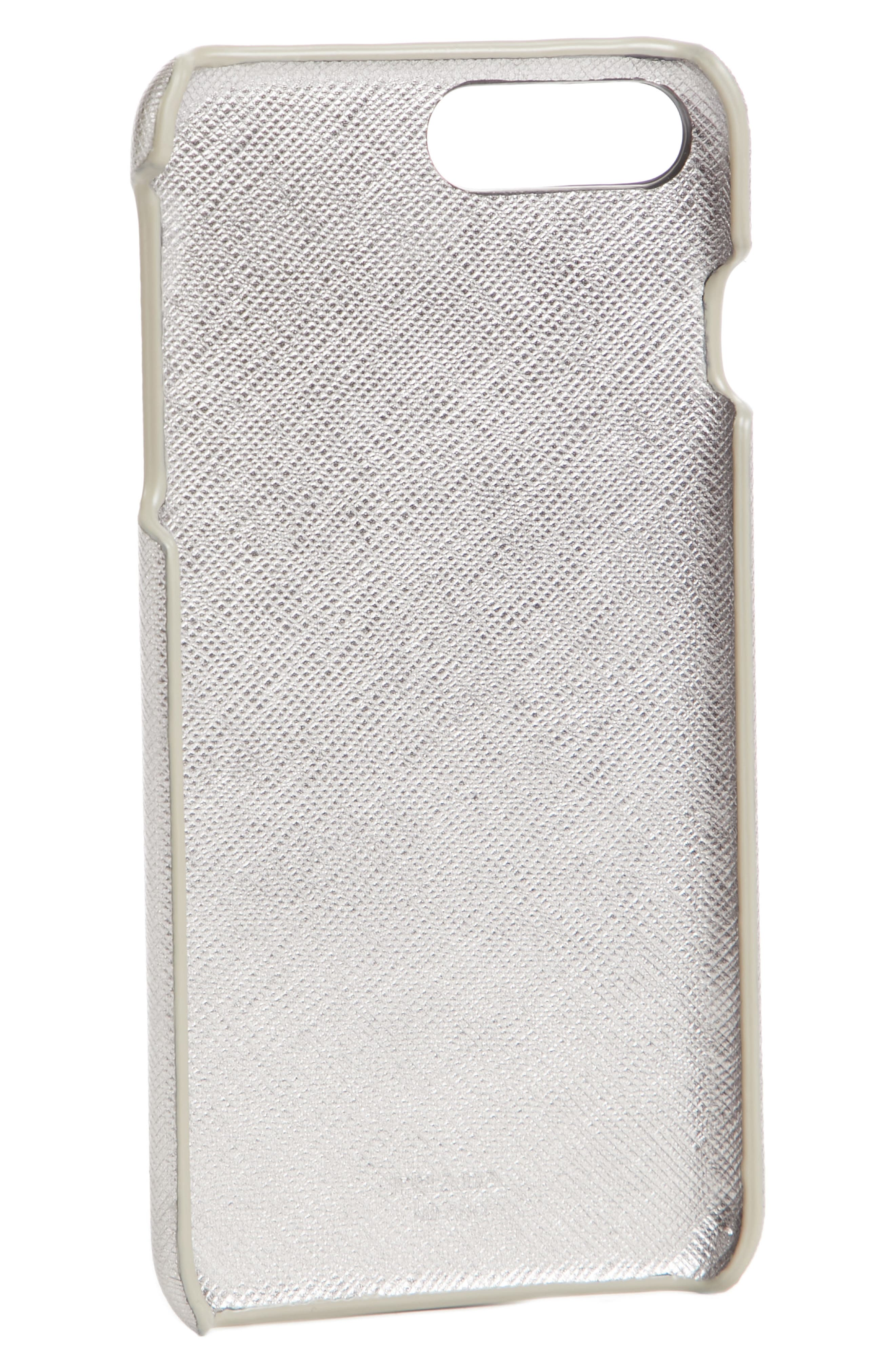 Saffiano Metal Oro iPhone 7/8 Plus Case,                             Alternate thumbnail 7, color,