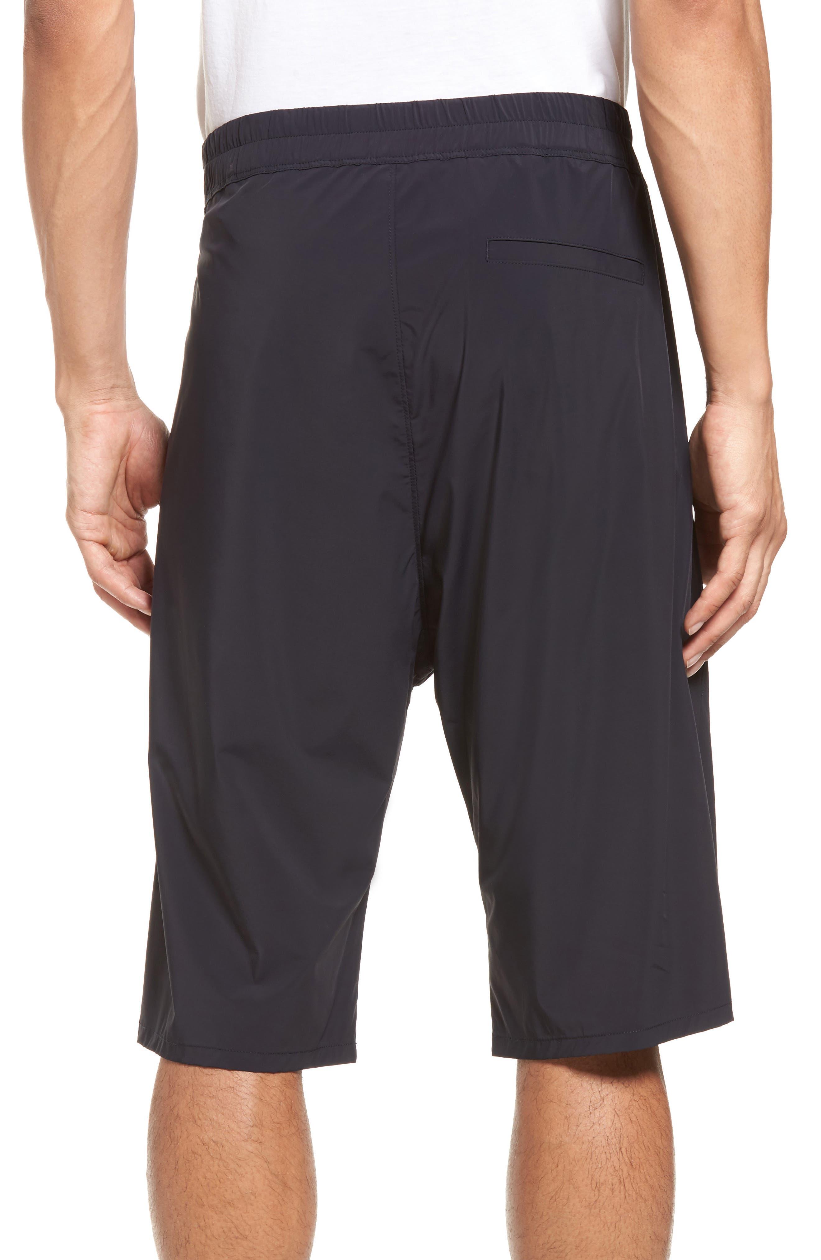 Drop Crotch Shorts,                             Alternate thumbnail 2, color,                             001
