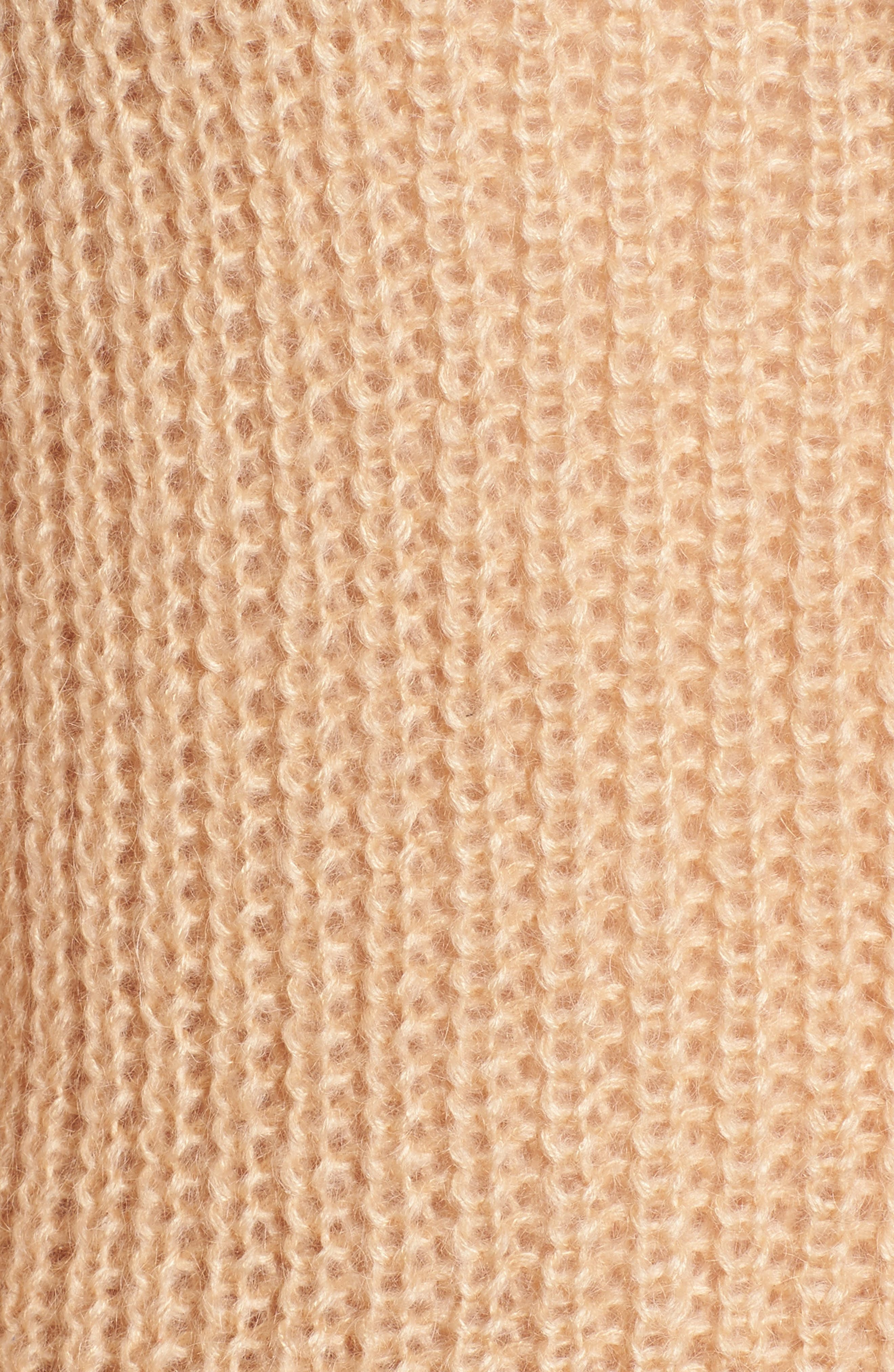 Cross Back Turtleneck Sweater,                             Alternate thumbnail 5, color,                             250