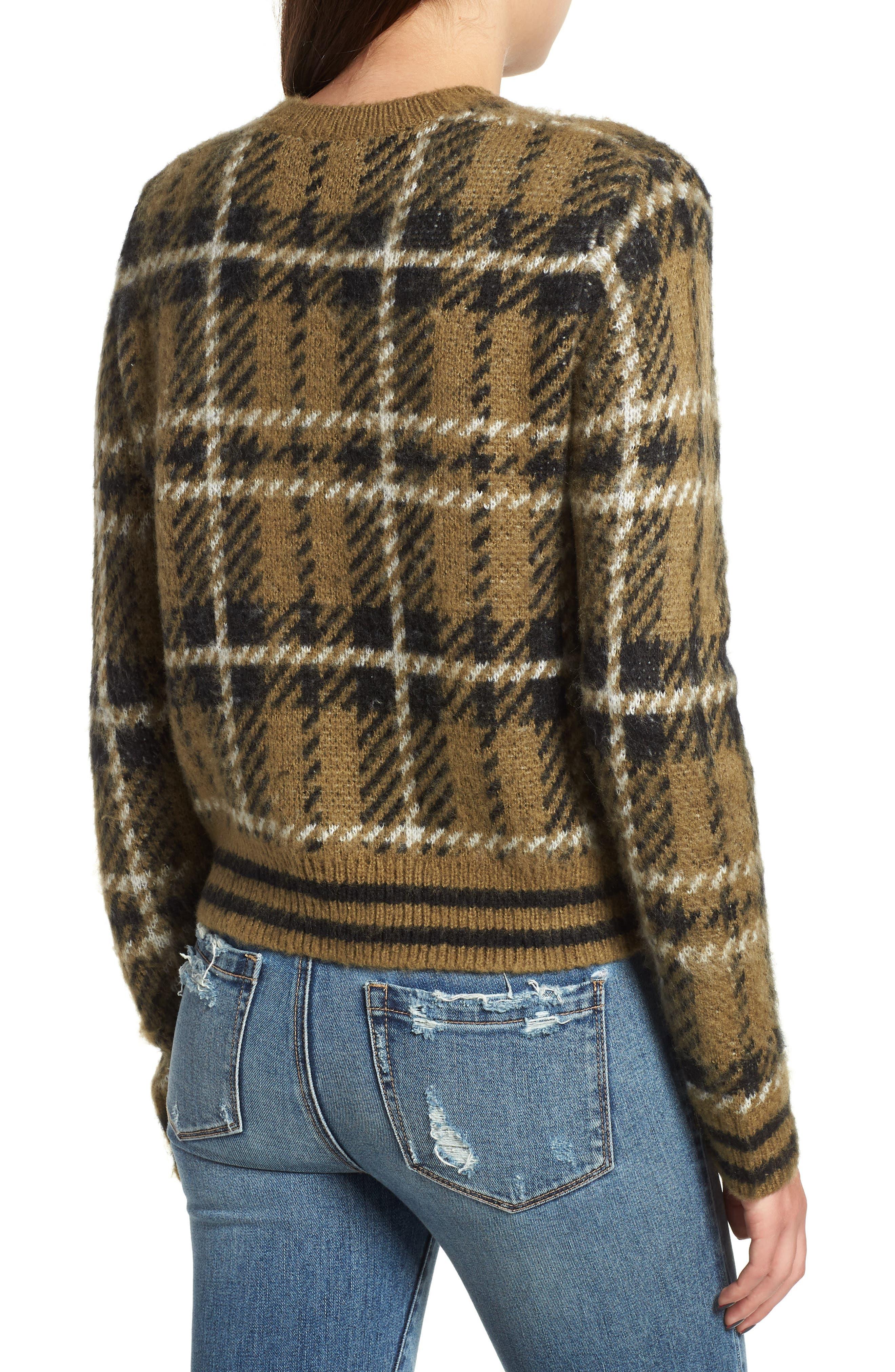Plaid Sweater,                             Alternate thumbnail 2, color,                             315