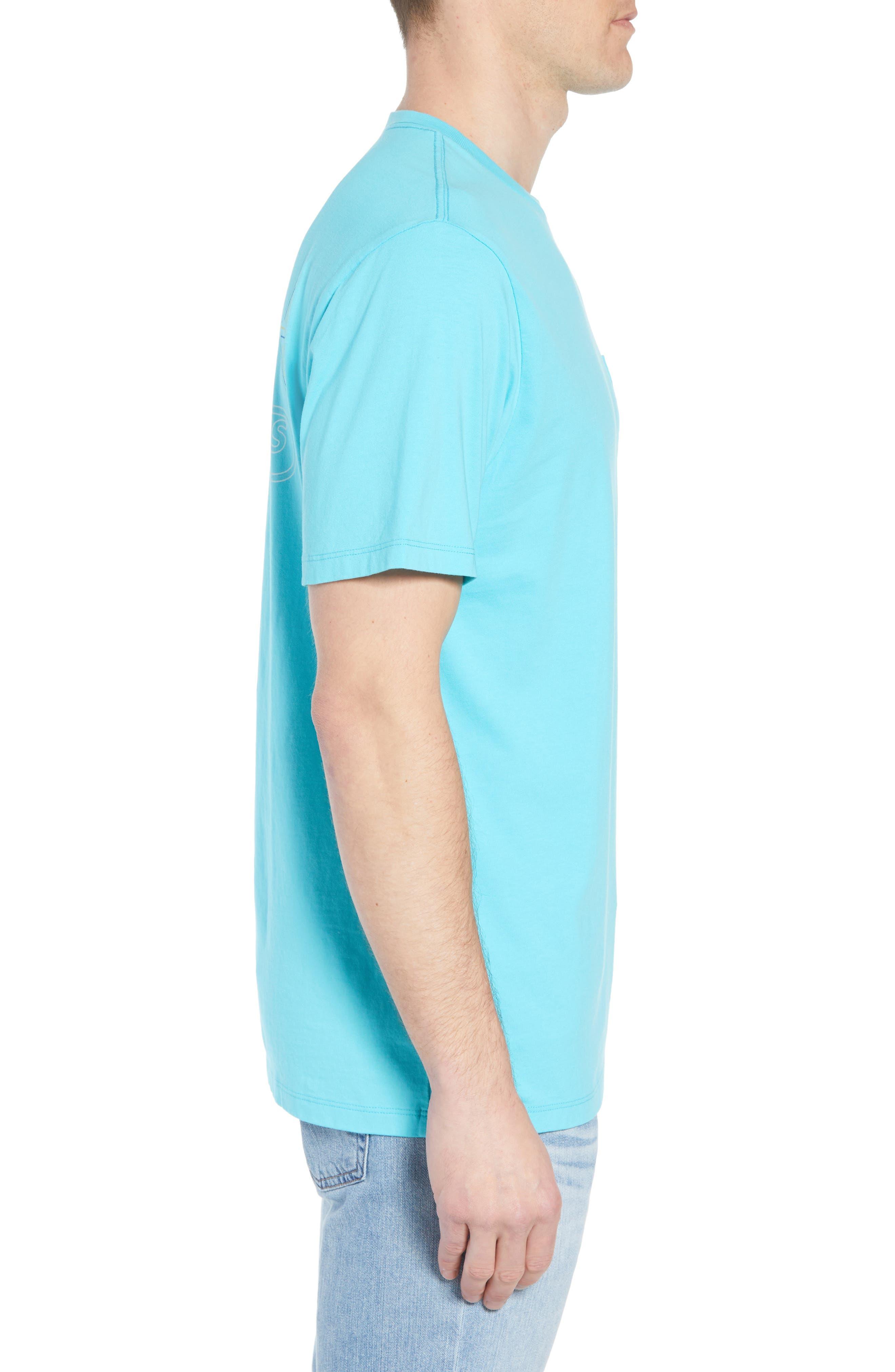 Tuna Hook Regular Fit Crewneck T-Shirt,                             Alternate thumbnail 3, color,
