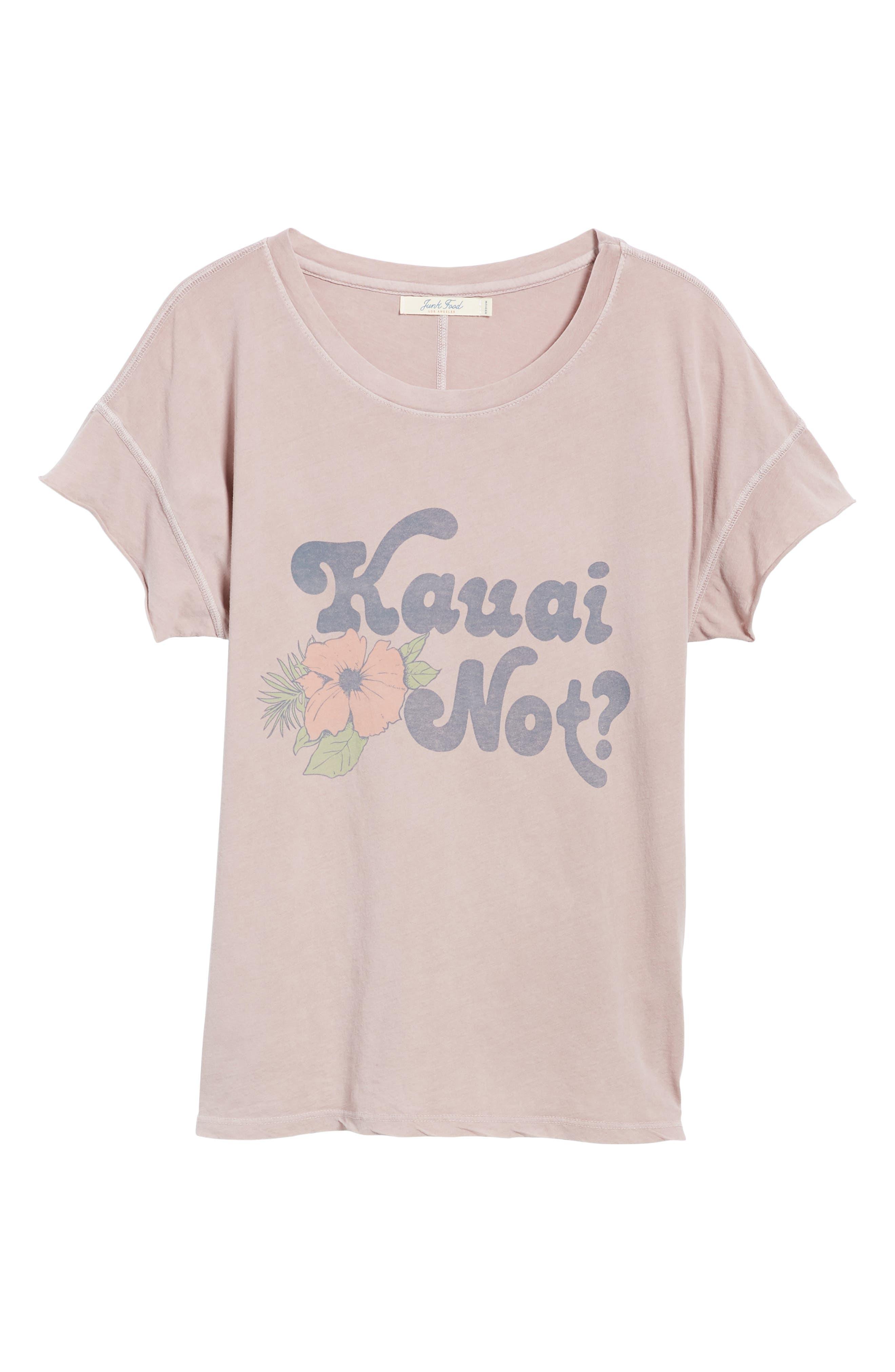 Kauai Not Tee,                             Alternate thumbnail 6, color,                             620