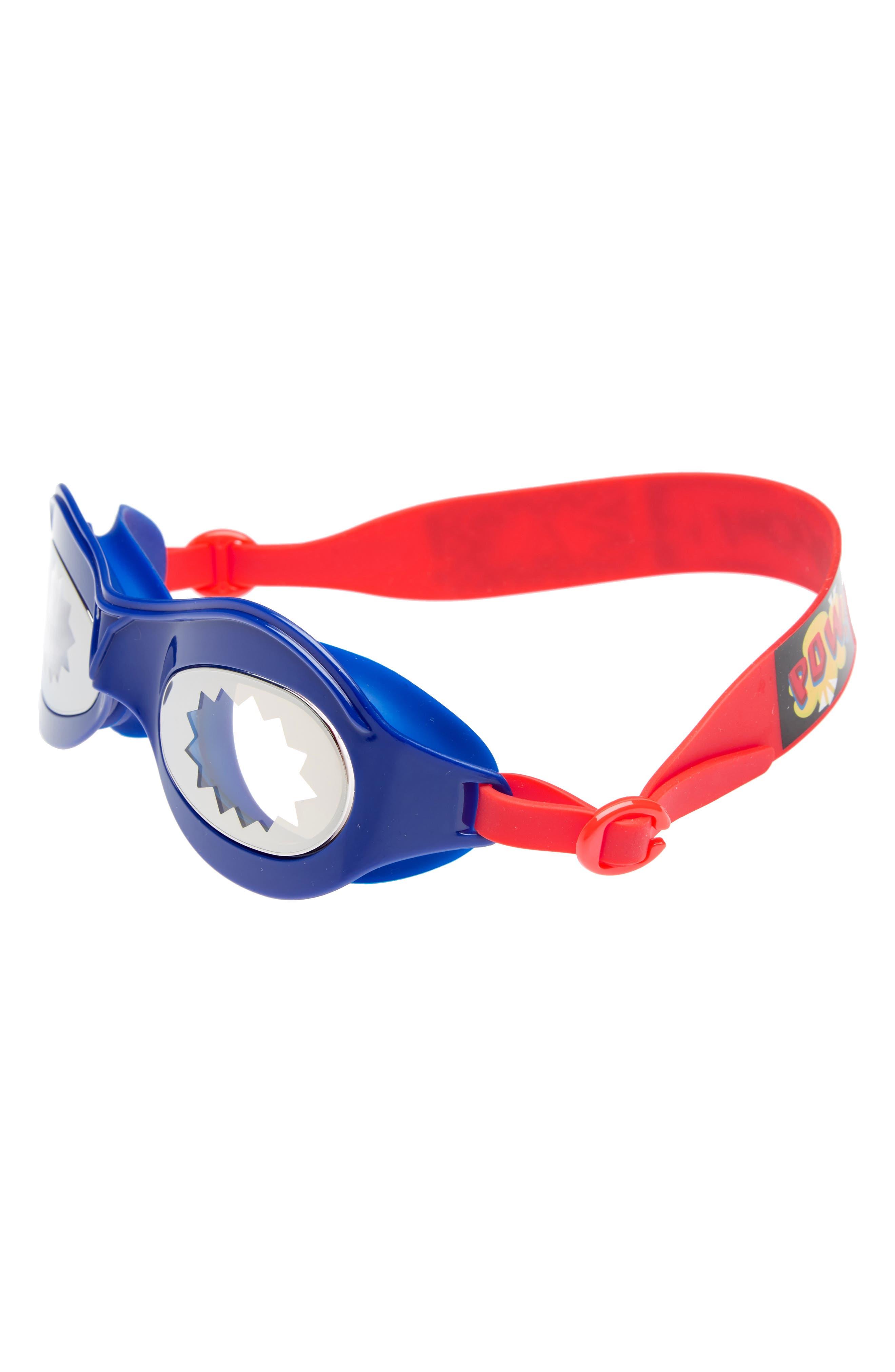 Atomic Comic Swim Goggles,                             Main thumbnail 1, color,                             400