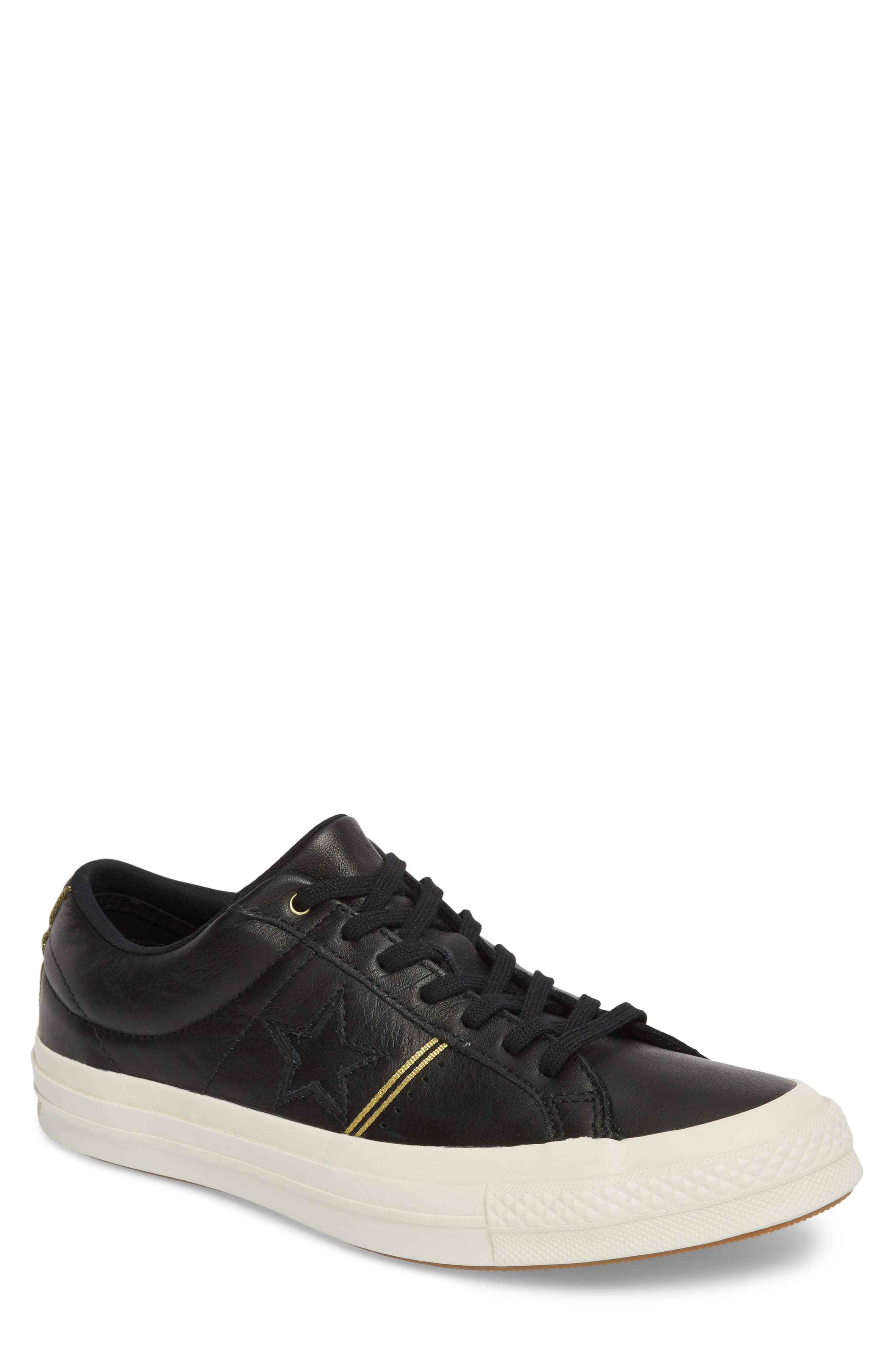 Chuck Taylor<sup>®</sup> All Star<sup>®</sup> One-Star Sneaker,                         Main,                         color, 001