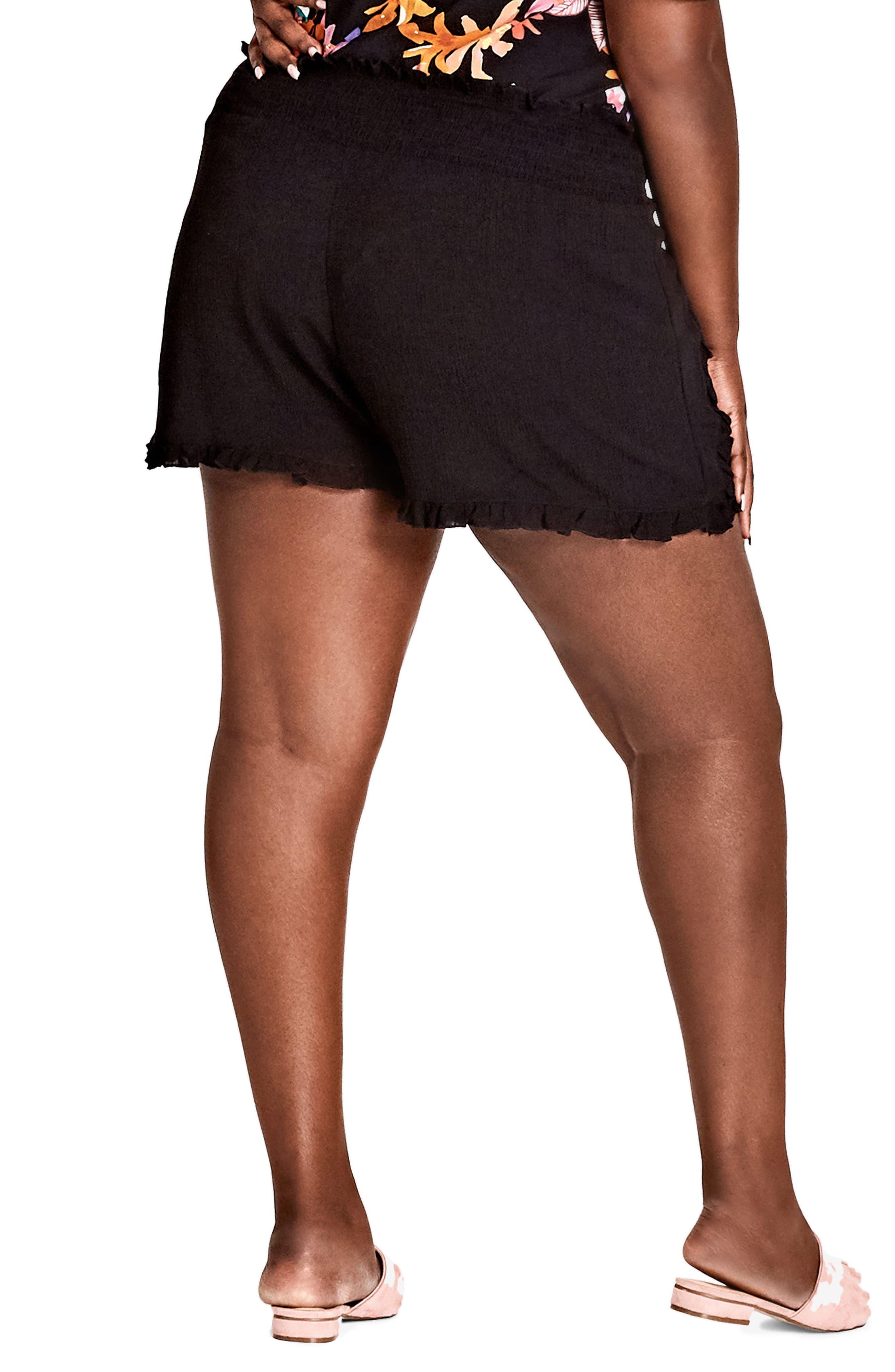 Island Holiday Shorts,                             Alternate thumbnail 2, color,                             BLACK
