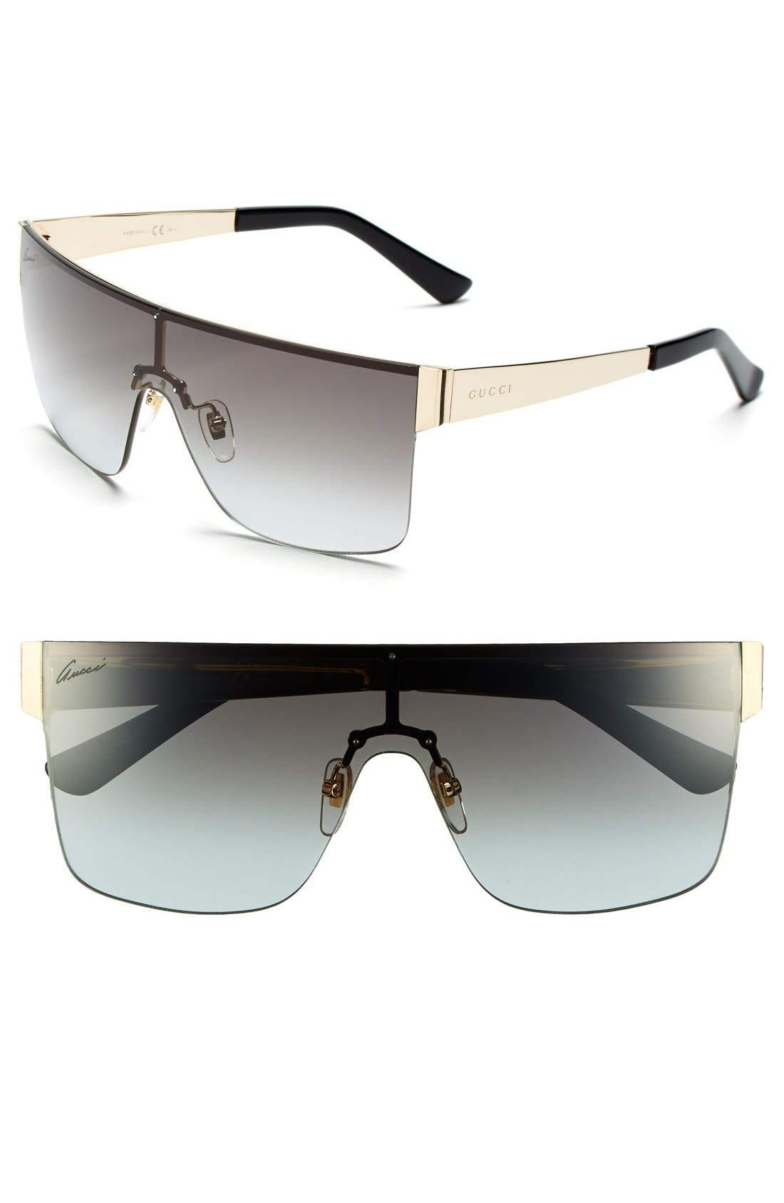 99mm Shield Sunglasses,                             Main thumbnail 1, color,                             710
