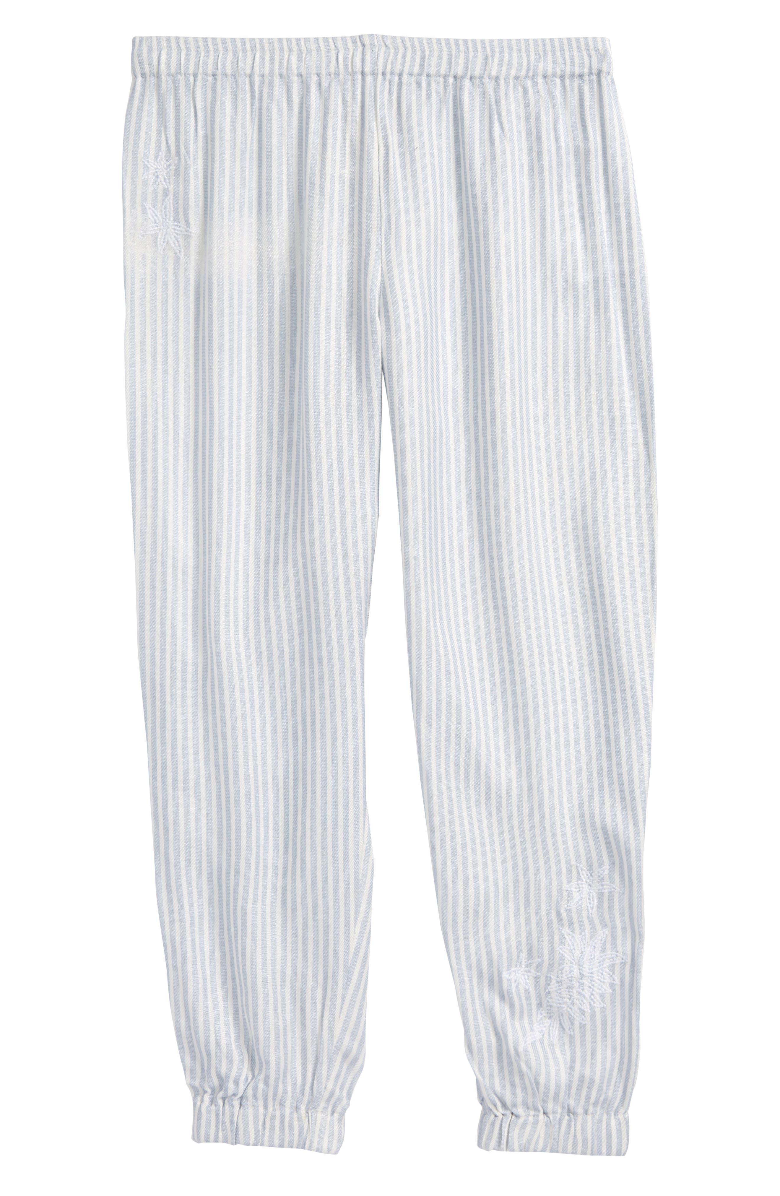 Skylar Stripe Jogger Pants,                             Main thumbnail 1, color,                             100
