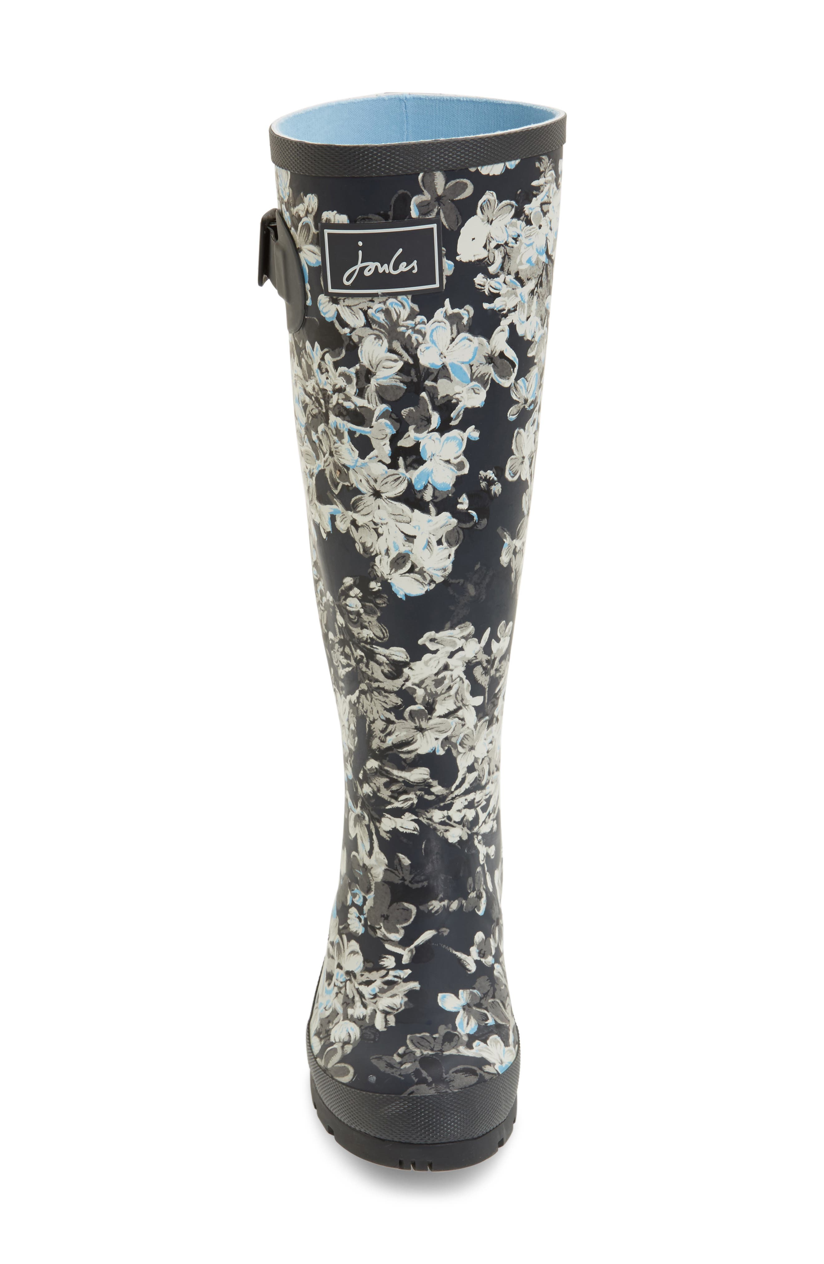 'Welly' Print Rain Boot,                             Alternate thumbnail 82, color,