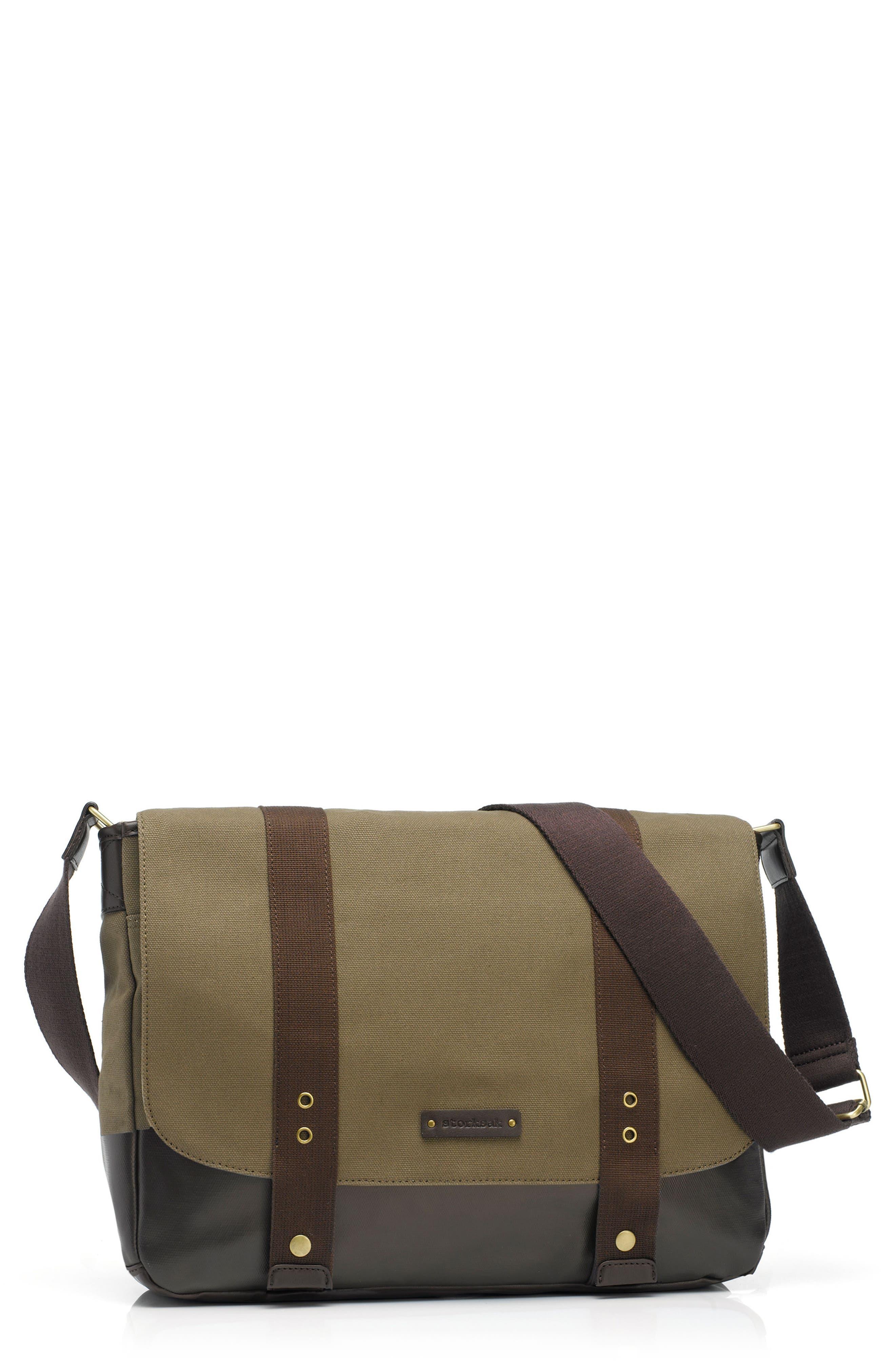 STORKSAK 'Aubrey' Diaper Bag, Main, color, 272