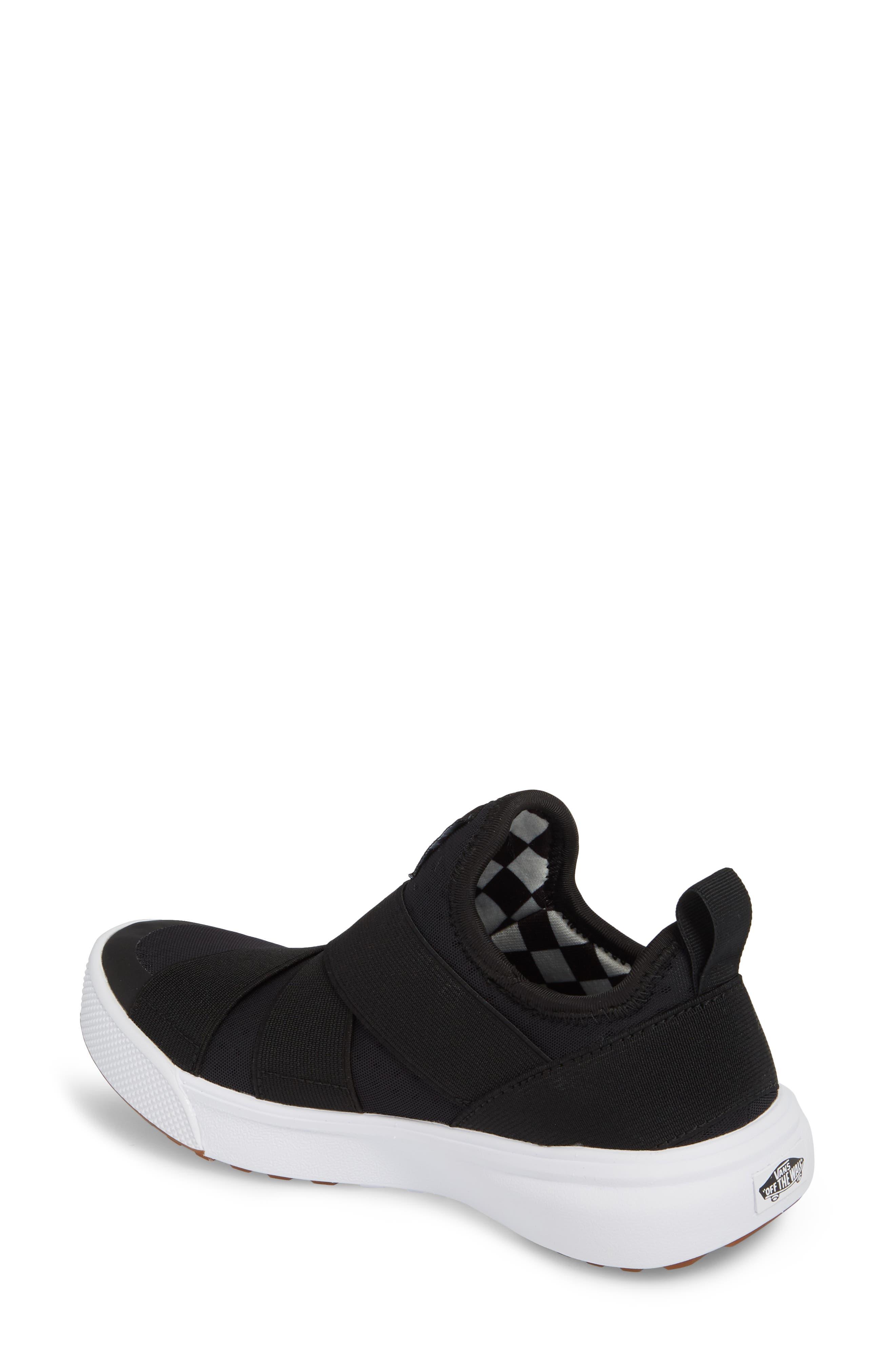 UltraRange Gore Slip-On Sneaker,                             Alternate thumbnail 2, color,                             BLACK