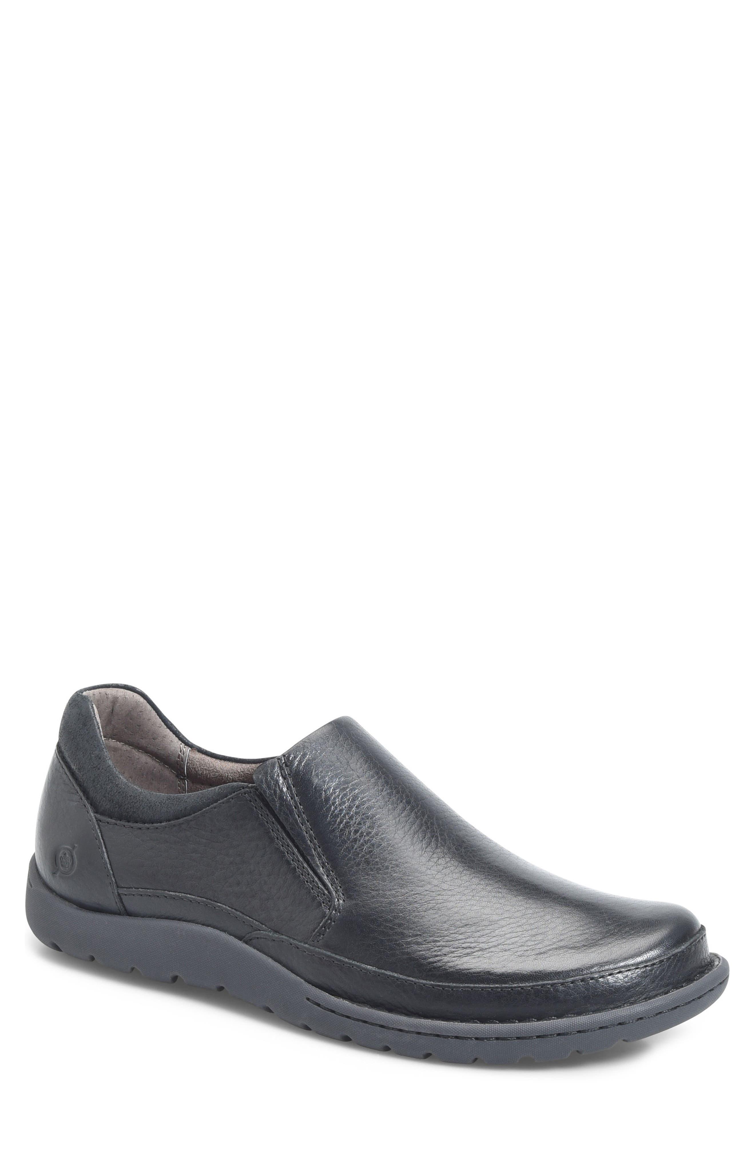 Nigel Slip-On,                         Main,                         color, BLACK
