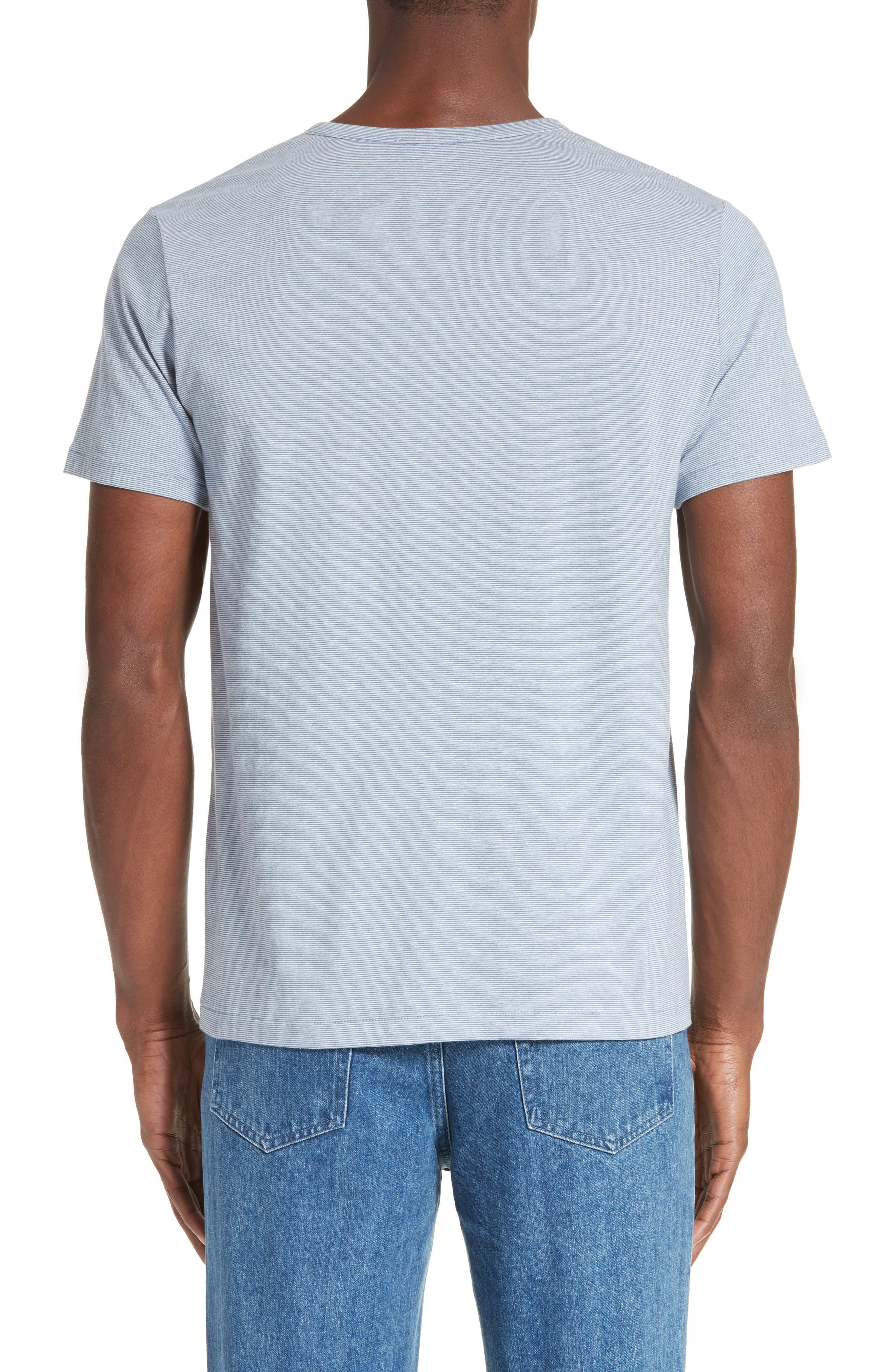 Eric Stripe Henley T-Shirt,                             Main thumbnail 1, color,                             400