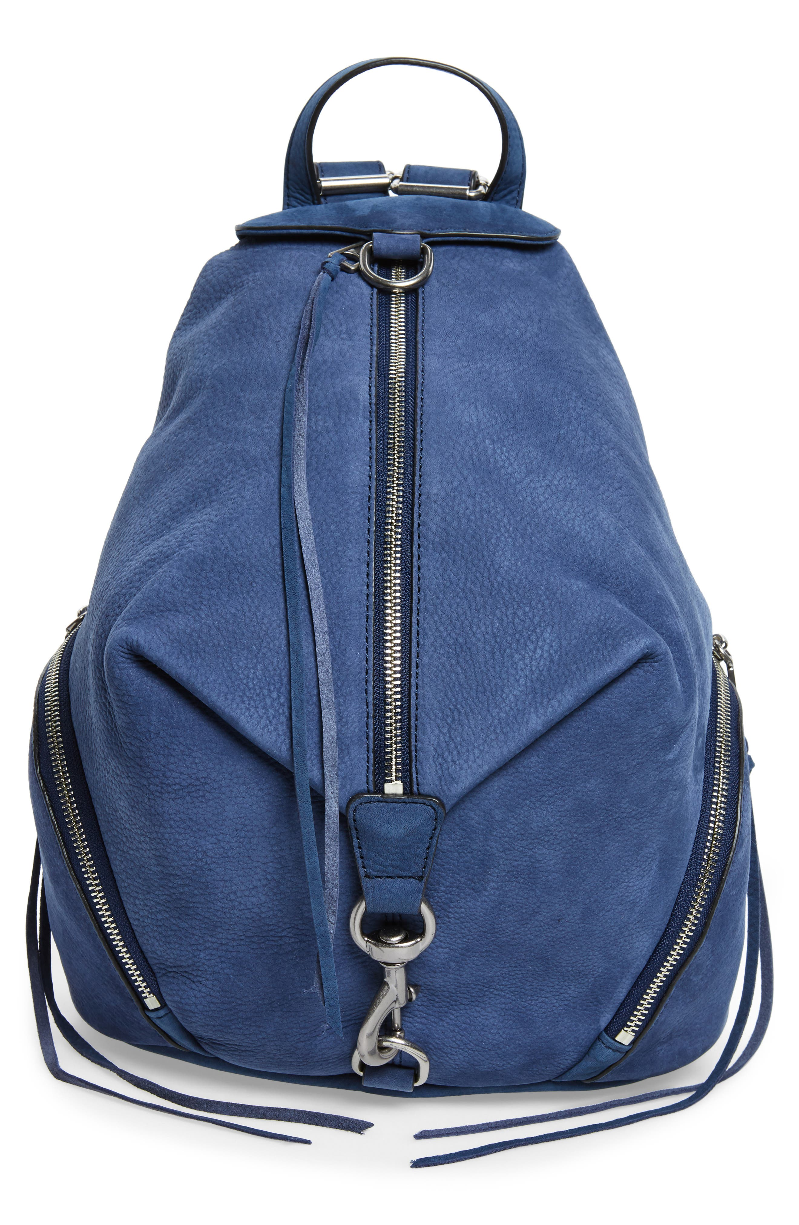 Julian Convertible Nubuck Leather Backpack,                             Main thumbnail 1, color,                             483