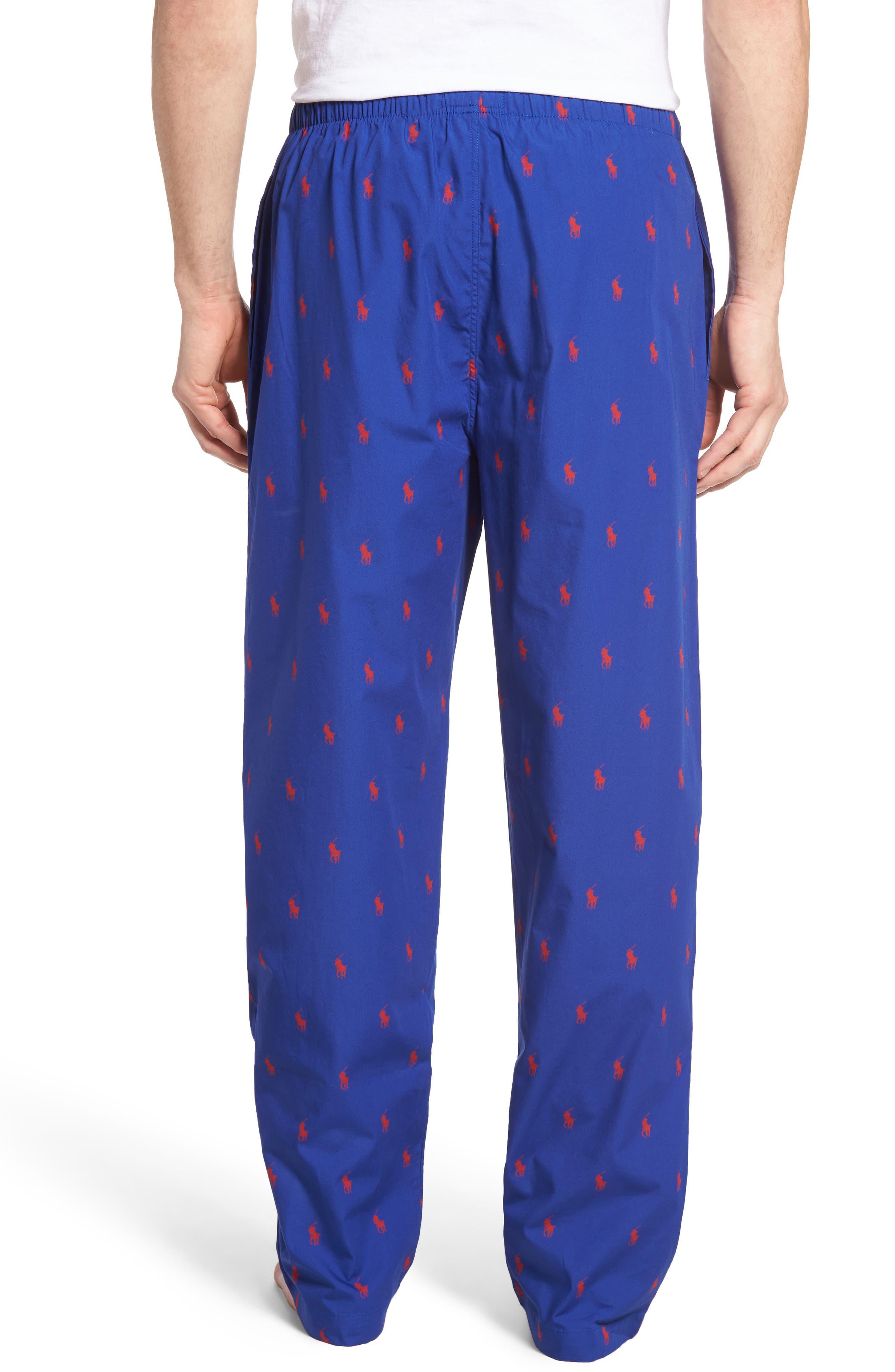 Cotton Lounge Pants,                             Alternate thumbnail 20, color,