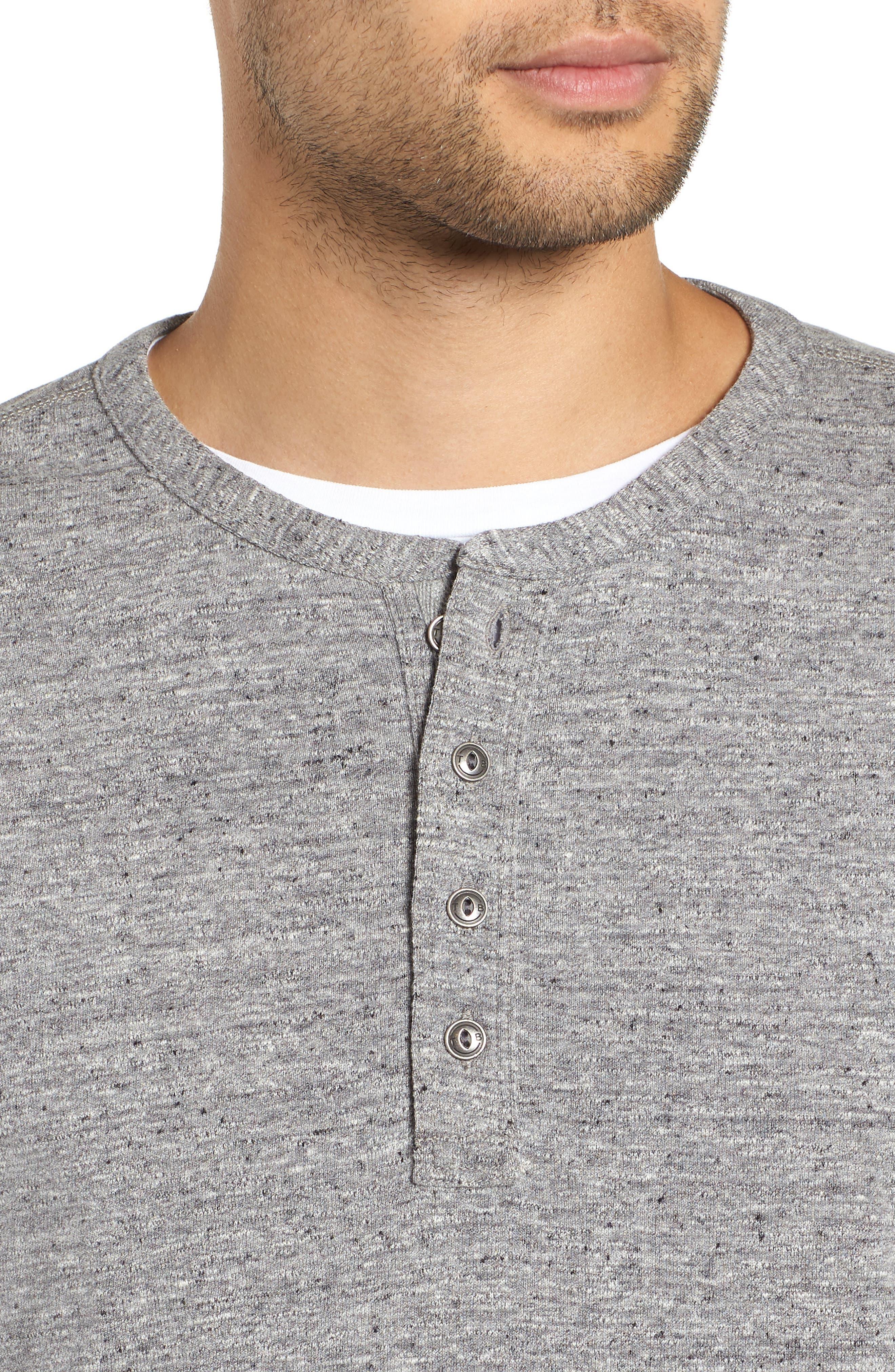 Nep Henley Shirt,                             Alternate thumbnail 4, color,                             021