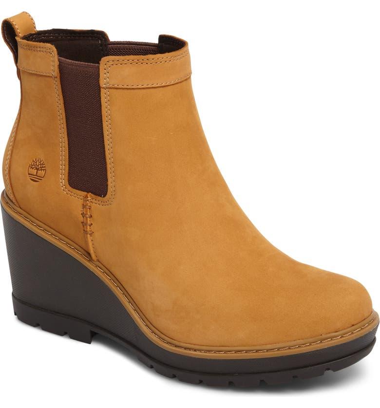 4b9b90232c1 Timberland Kellis Water Resistant Chelsea Wedge Boot (Women)