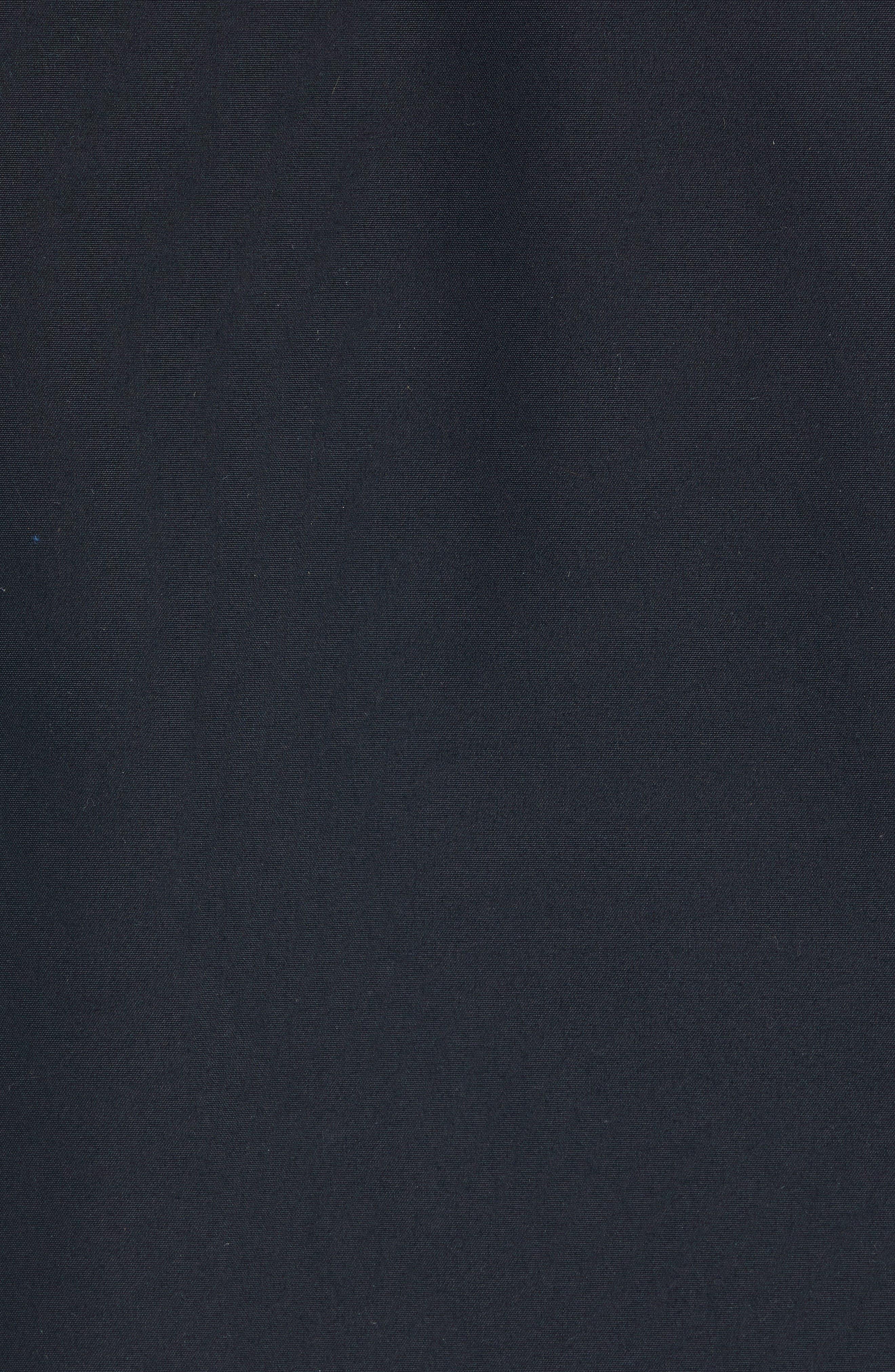 Hamilton 3-in-1 Down Parka with Genuine Fox Fur Trim,                             Alternate thumbnail 7, color,                             BLACK