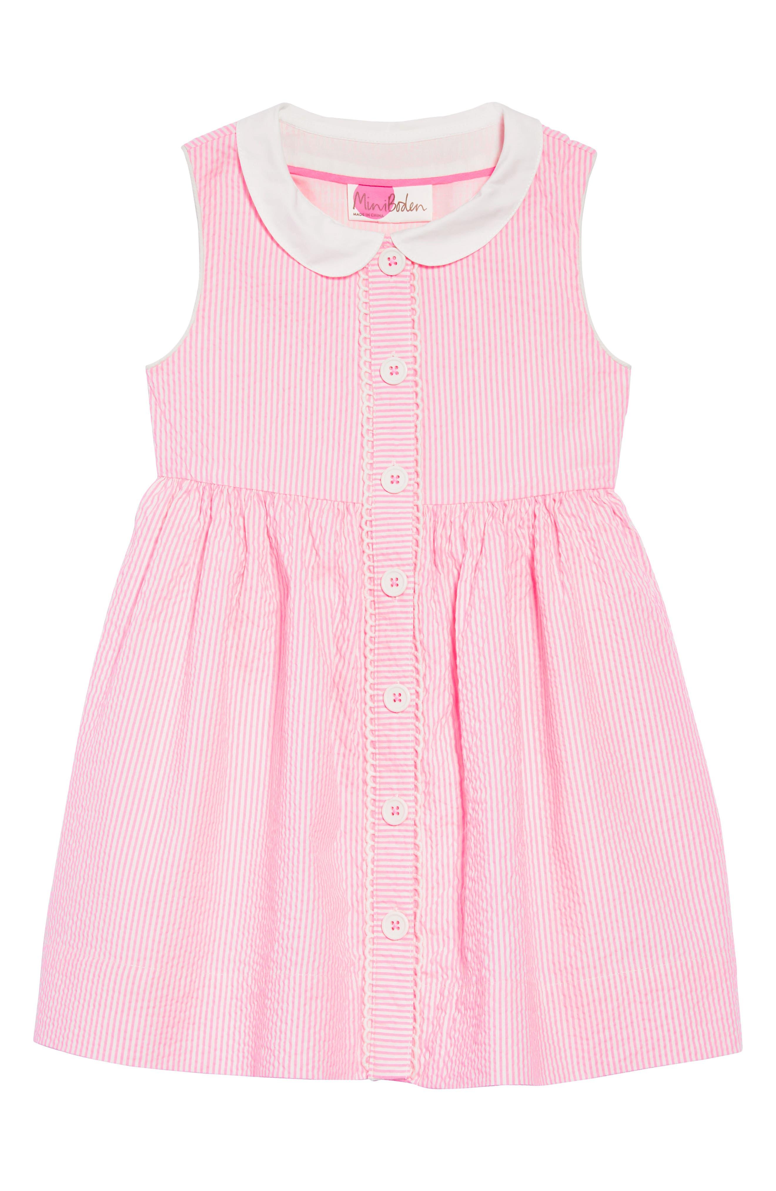 Nostalgic Collar Dress,                         Main,                         color, 664