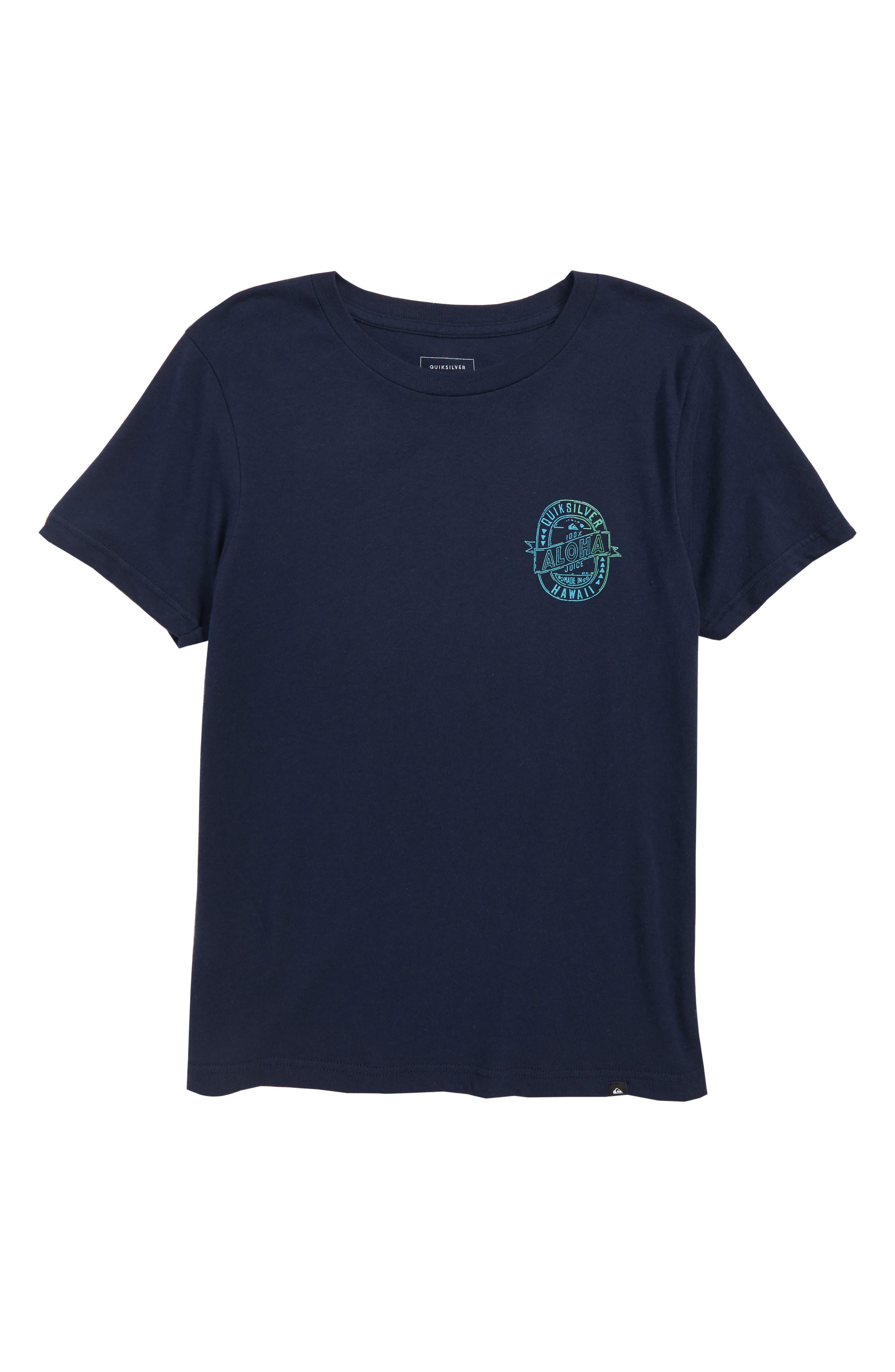 Hawaii Juice Graphic T-Shirt,                             Main thumbnail 1, color,                             410