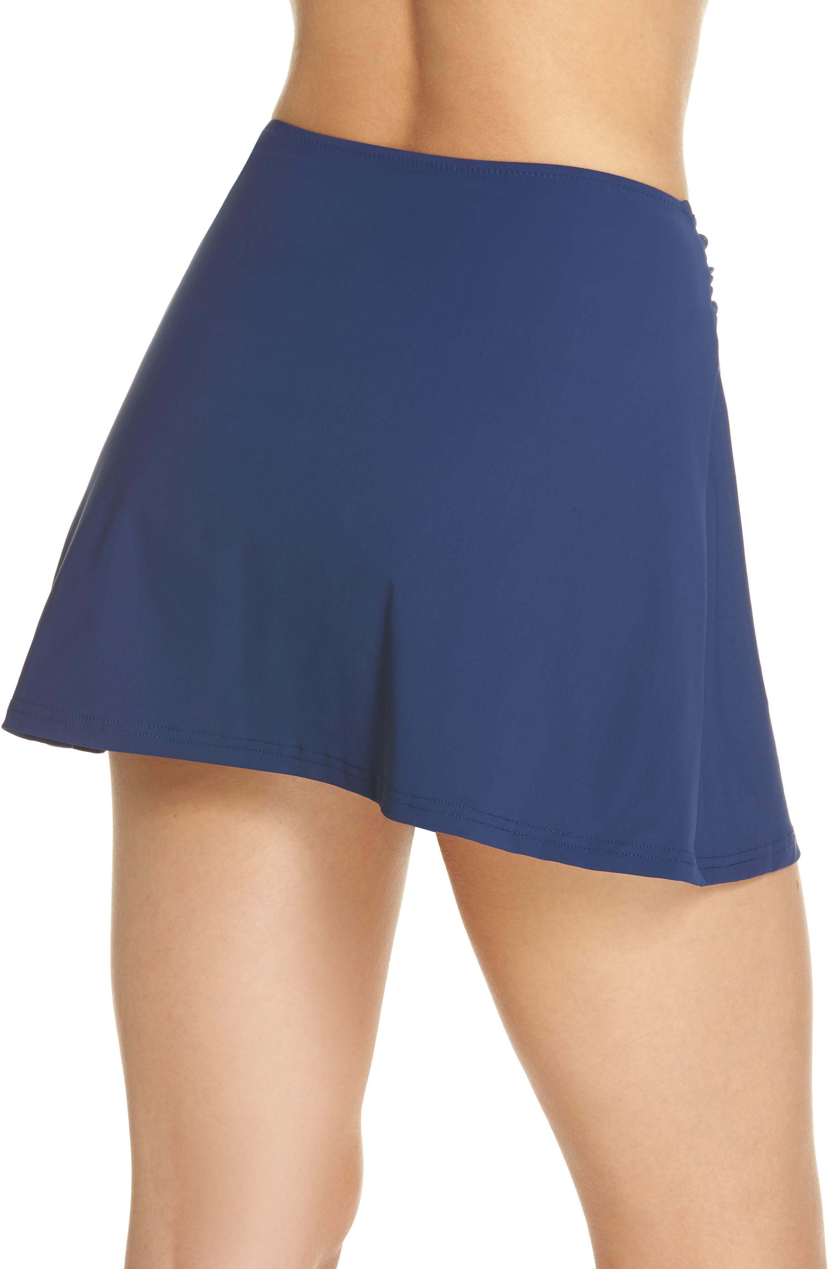 Beaded Cover-Up Skirt,                             Alternate thumbnail 2, color,                             PETROL