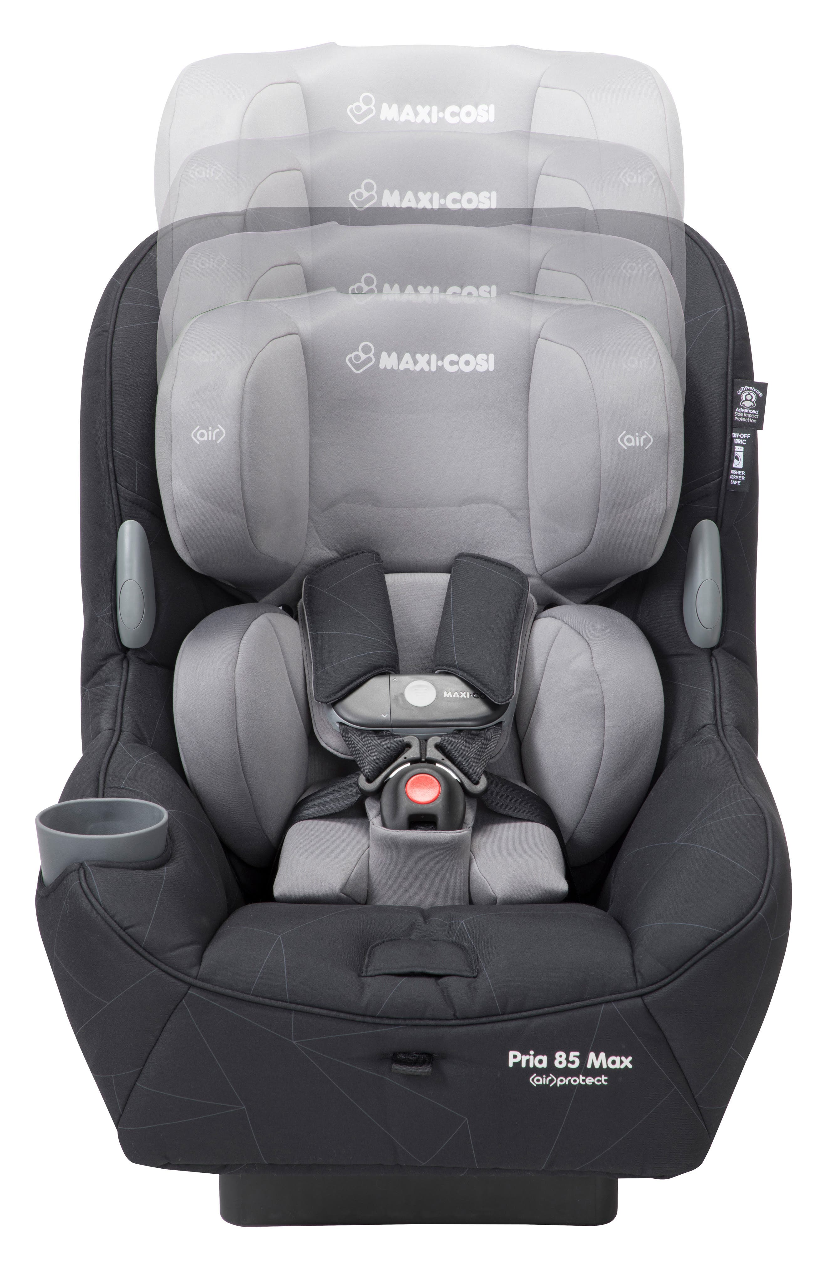 Pria<sup>™</sup> 85 Max Convertible Car Seat,                             Alternate thumbnail 2, color,                             DIAMOND LINES