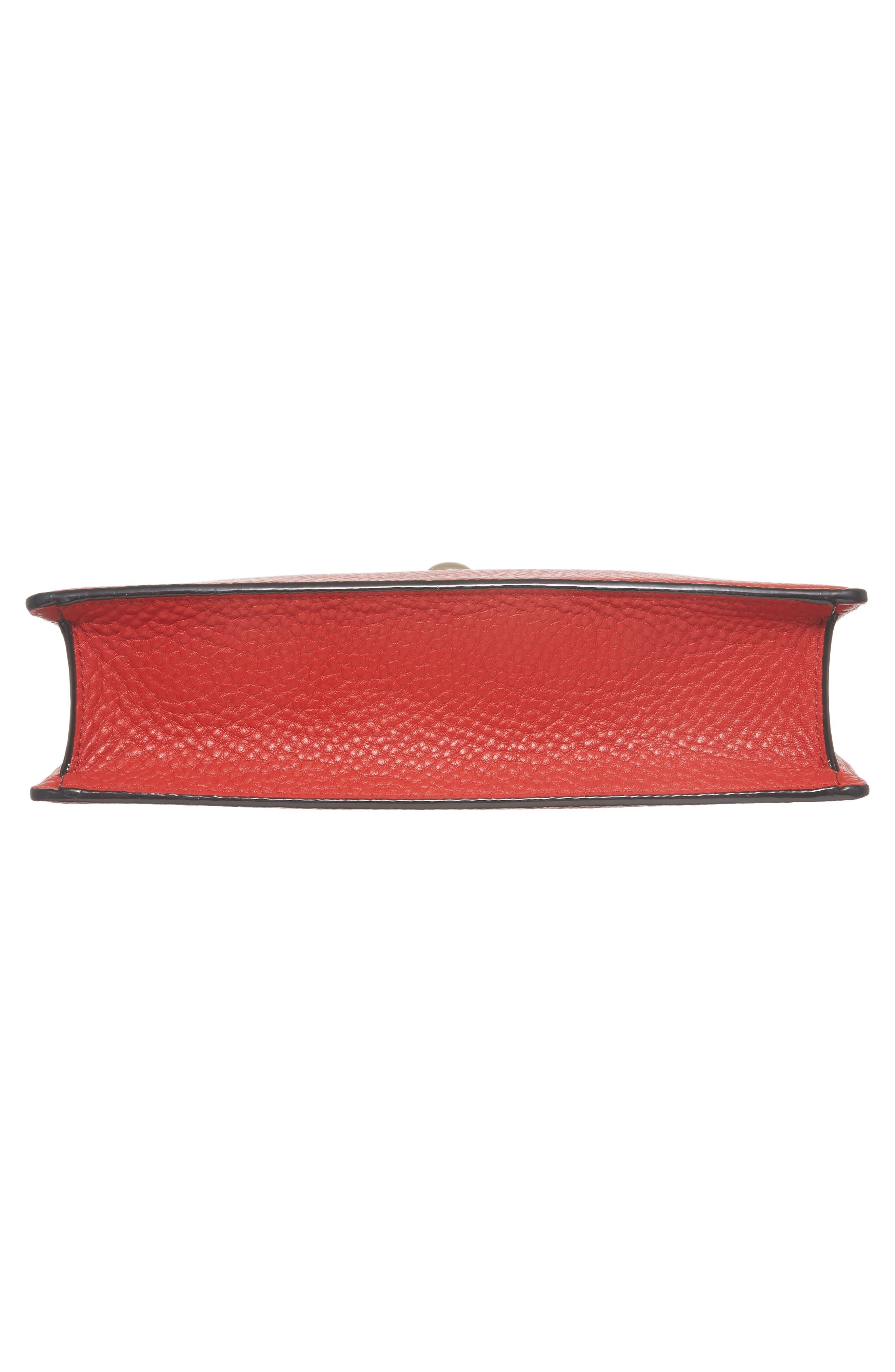 steward street clarise leather shoulder bag,                             Alternate thumbnail 18, color,
