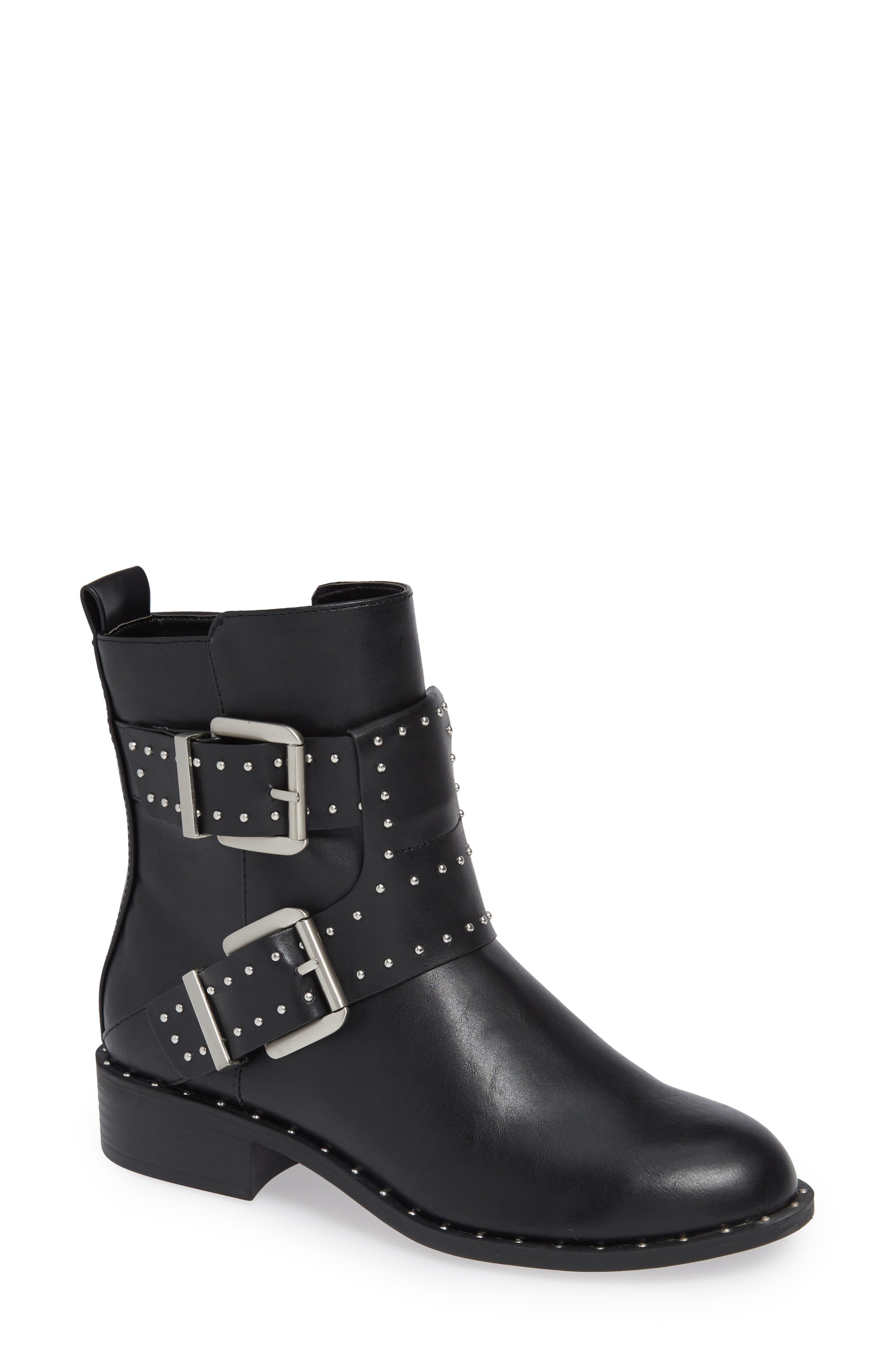 Charles By Charles David Tupper Moto Boot, Black