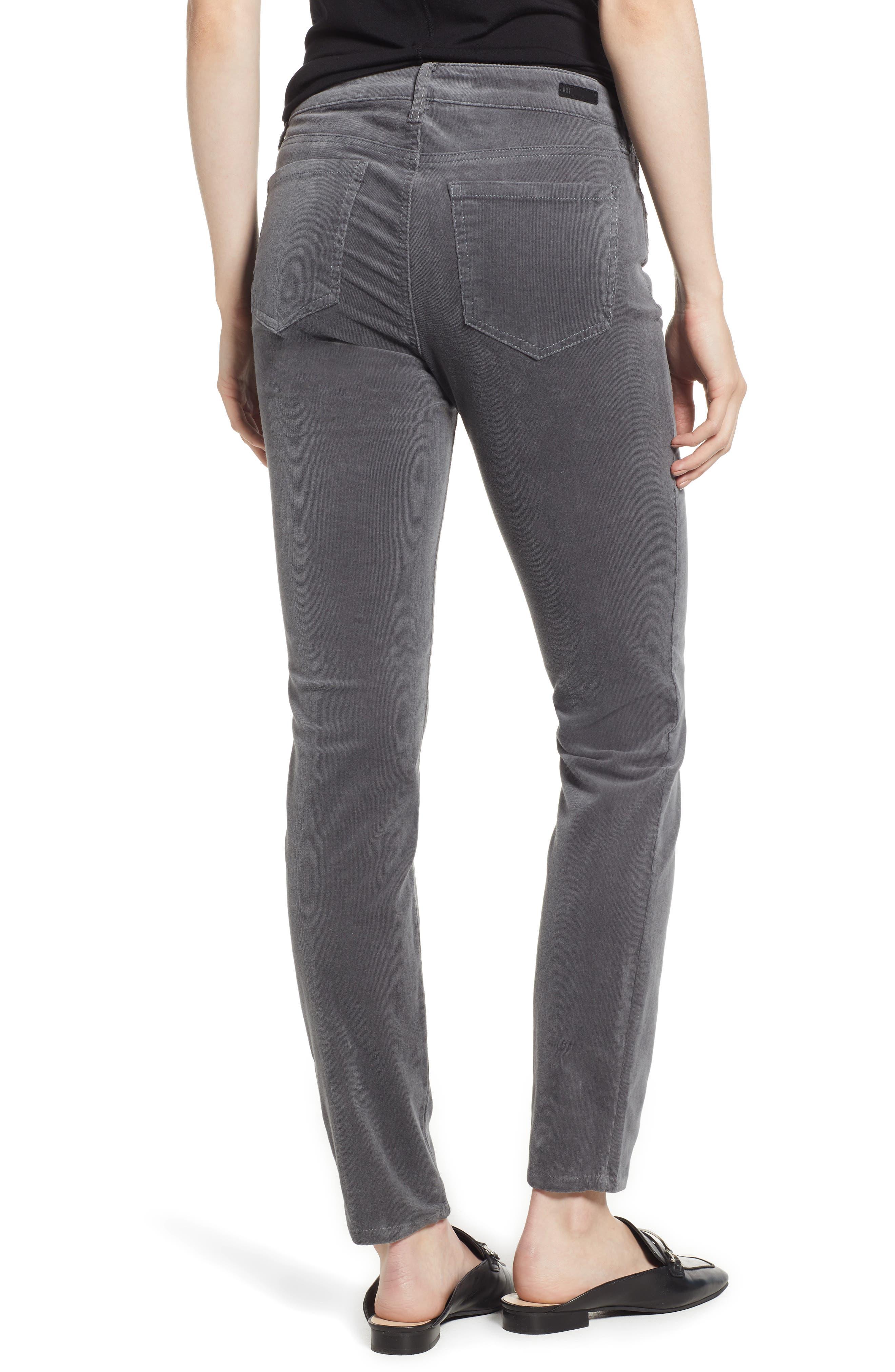 'Diana' Stretch Corduroy Skinny Pants,                             Alternate thumbnail 56, color,